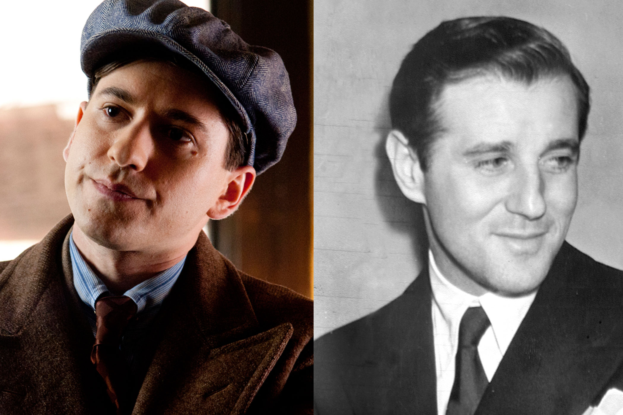 Benny Siegel:                               Young Benny is played by Michael Zegen on the show. Real-life Benjamin  Bugsy  Siegel was well known as a handsome gangster, gambler and bootlegger, who was behind the development of the Las Vegas strip.