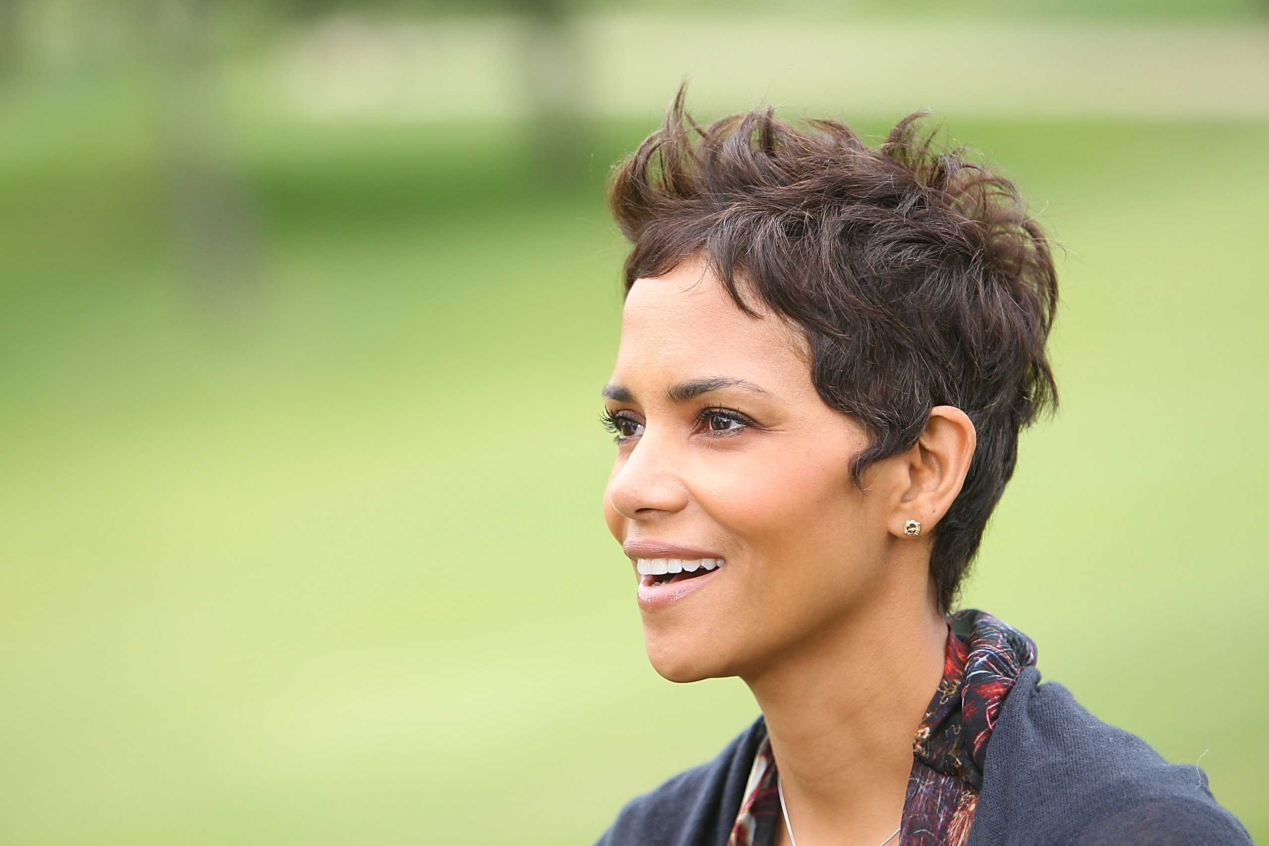 """I would say on some levels I am [a feminist]. Angela Davis is one of my heroes,"" <strong>Halle Berry</strong> told Ebony in April. ""And Gloria Steinem—these are people who, as I was growing, I was moved by and impacted by and thought very deeply about."""
