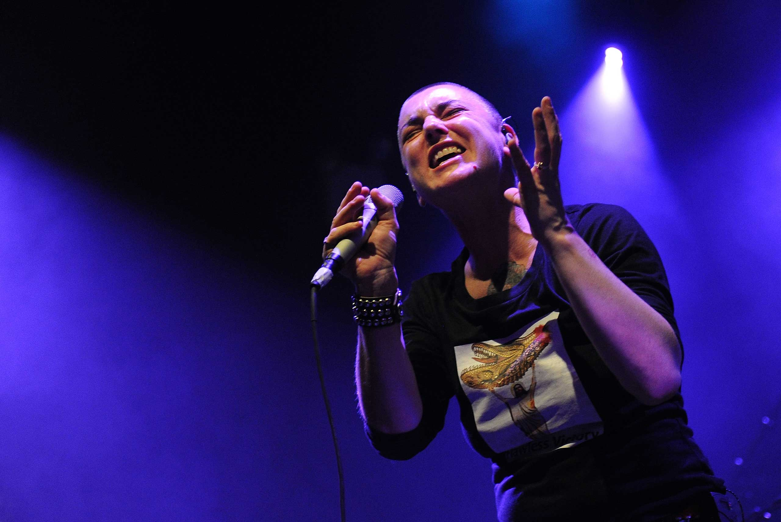 """I don't think of myself as being a feminist,"" <strong>Sinead O'Connor</strong> told <i>The Guardian</i> in July. ""I wouldn't label myself anything, certainly not something with an 'ism' or an 'ist' at the end of it. I'm not interested in anything that is in any way excluding of men."""