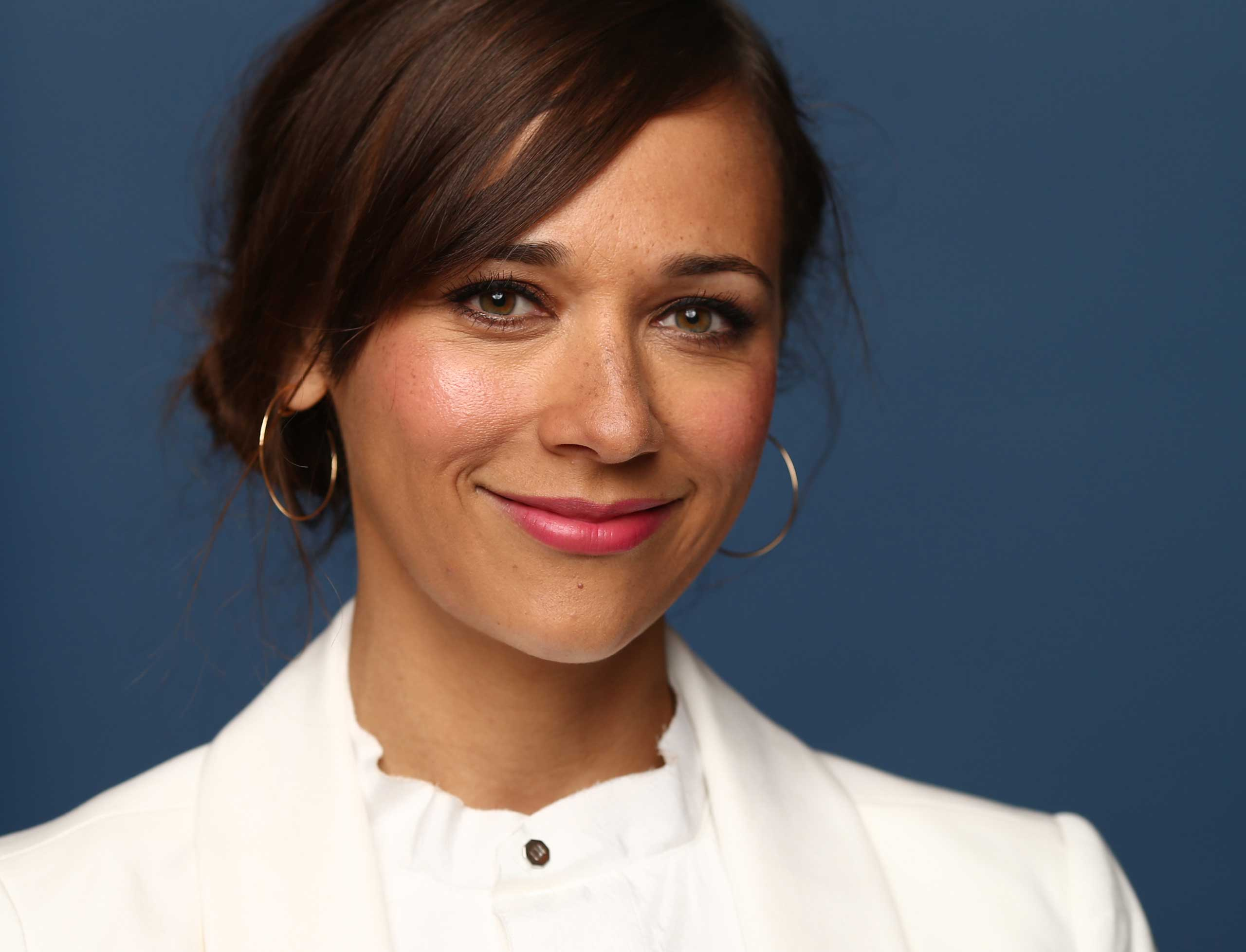 """I would [call myself a feminist], yes."" <strong>Rashida Jones</strong> said in 2013. ""I believe in the unadulterated advancement of women. And we have so far to go still."""