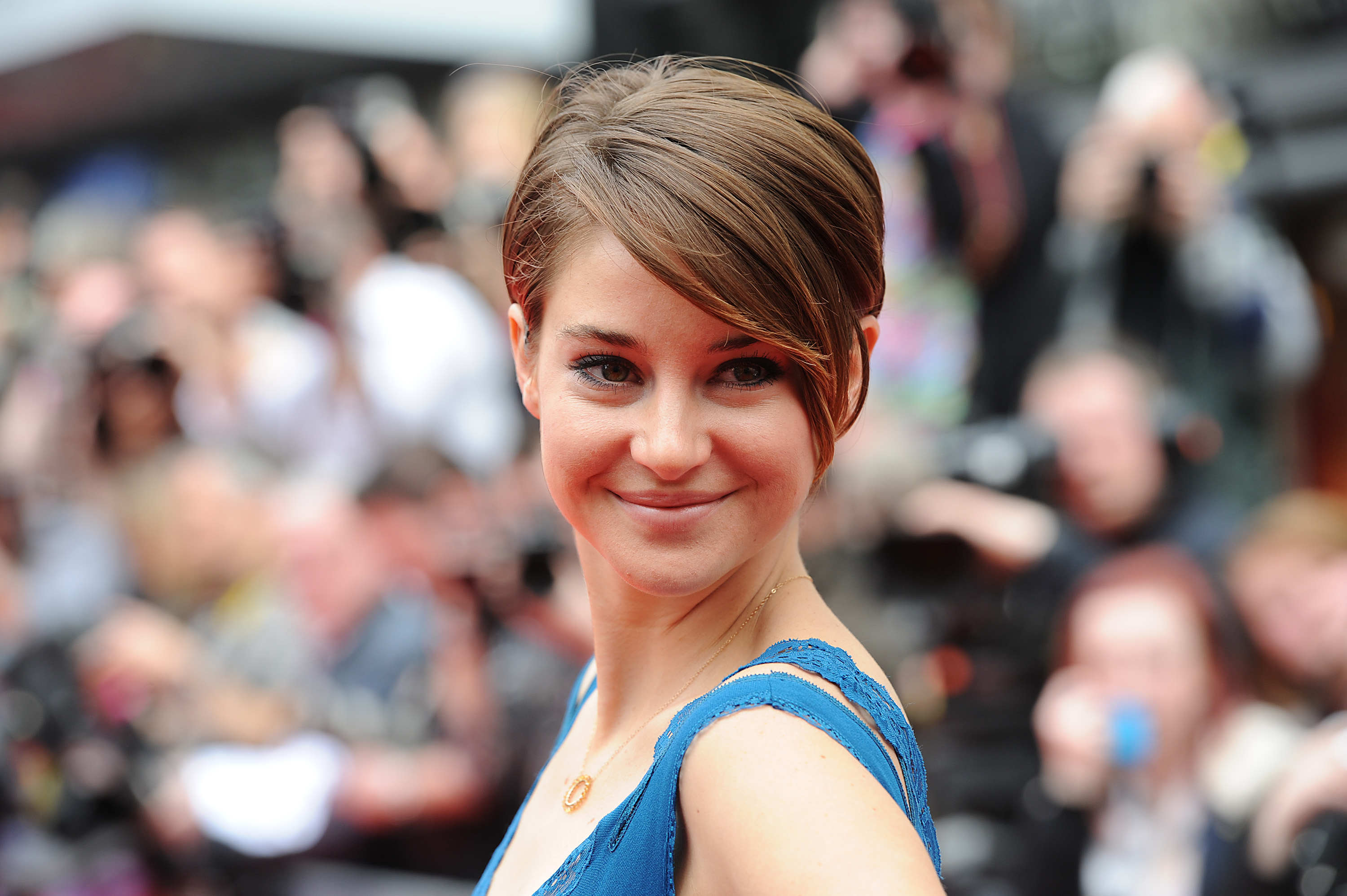 """No, because I love men,"" was <strong>Shailene Woodley's</strong> response when TIME asked her whether she considered herself a feminist in May. ""I think the idea of 'raise women to power, take the men away from the power' is never going to work out because you need balance…My biggest thing is really sisterhood more than feminism."""