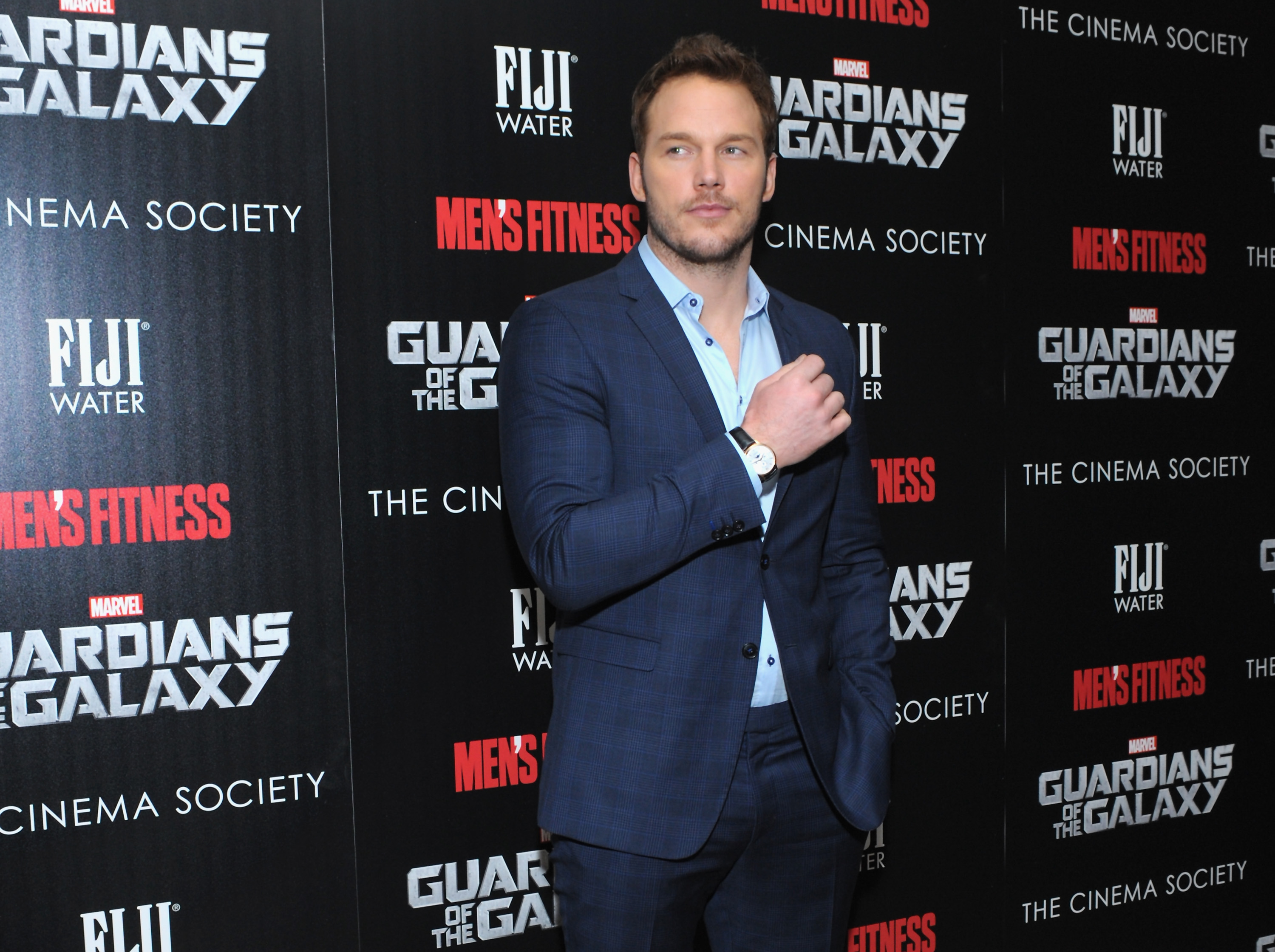 Chris Pratt, seen here during one of his many Red Carpet visits of the summer, will host this year's SNL premiere.