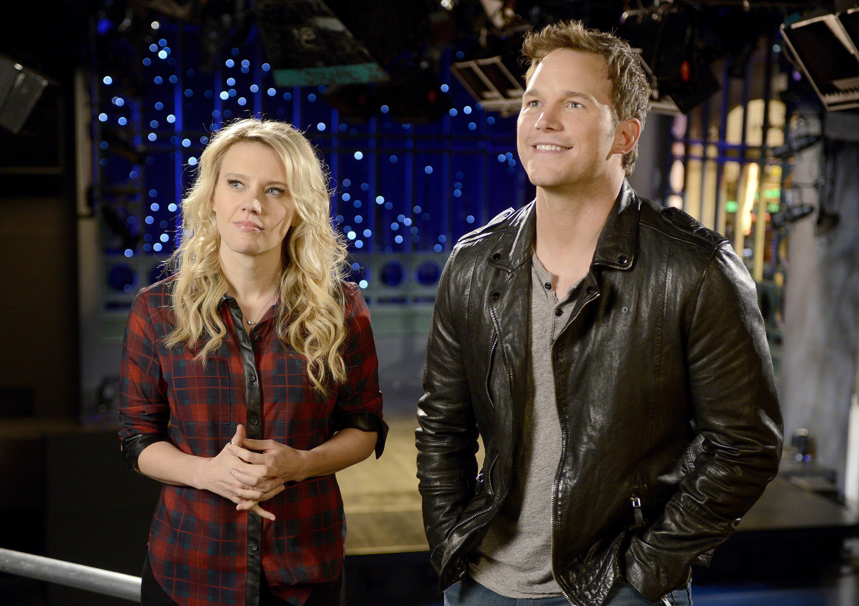 Chris Pratt on Saturday Night Live on Sept. 27, 2014.