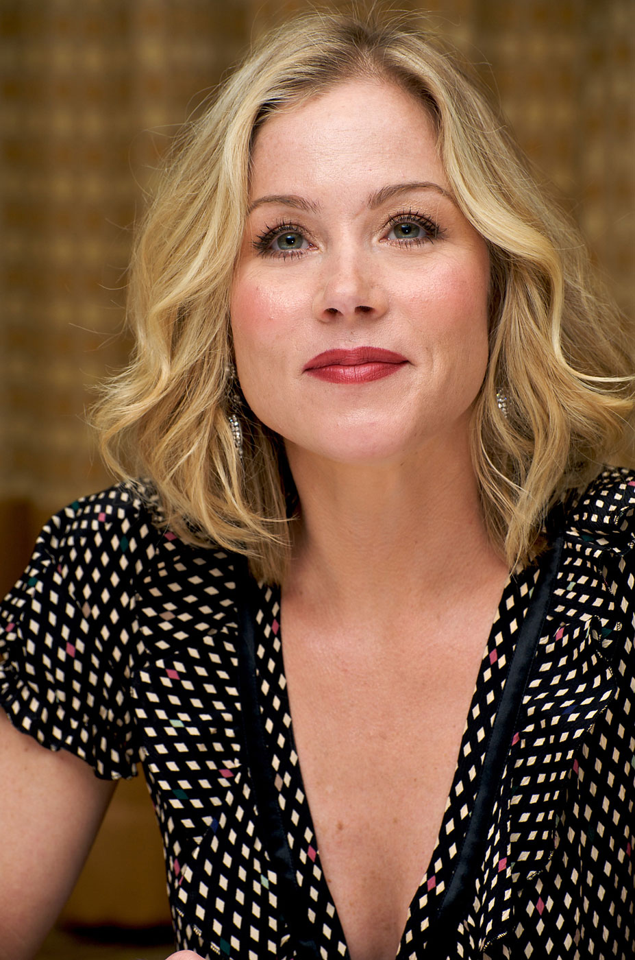 Christina Applegate                               Actress and healthcare activist                               Diagnosed with breast cancer in 2008