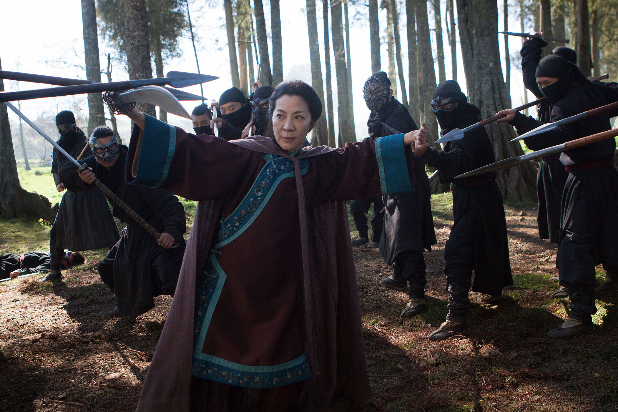Michelle Yeoh will reprise her role as Yu Shu-Lien in Crouching Tiger, Hidden Dragon: The Green Legend