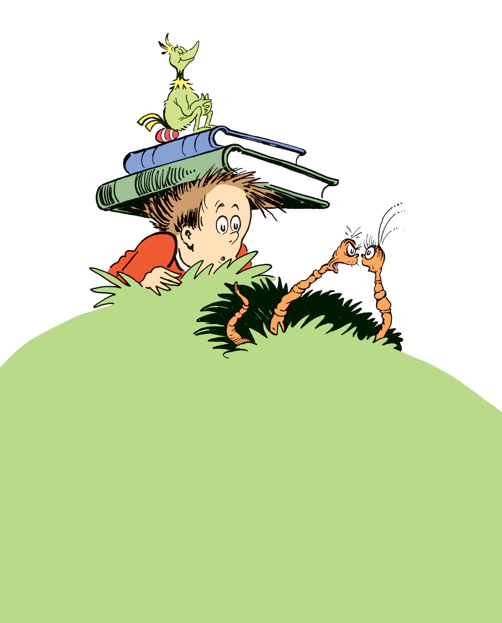 Marco in an illustration from Horton and the Kwuggerbug and More Lost Stories by Dr. Seuss