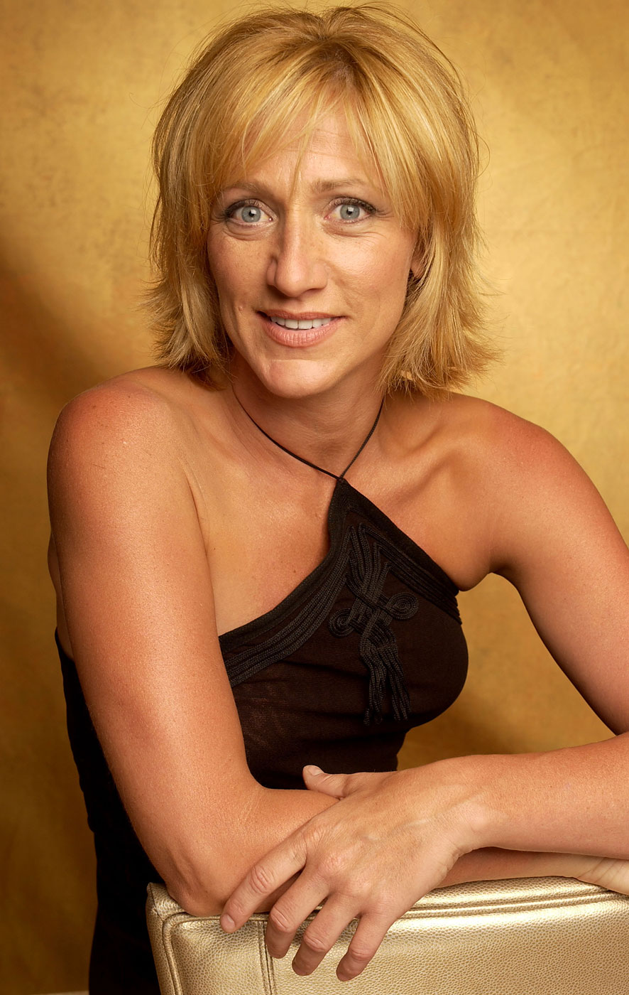 Edie Falco                               Actress and healthcare activist                               Diagnosed with breast cancer in 2003