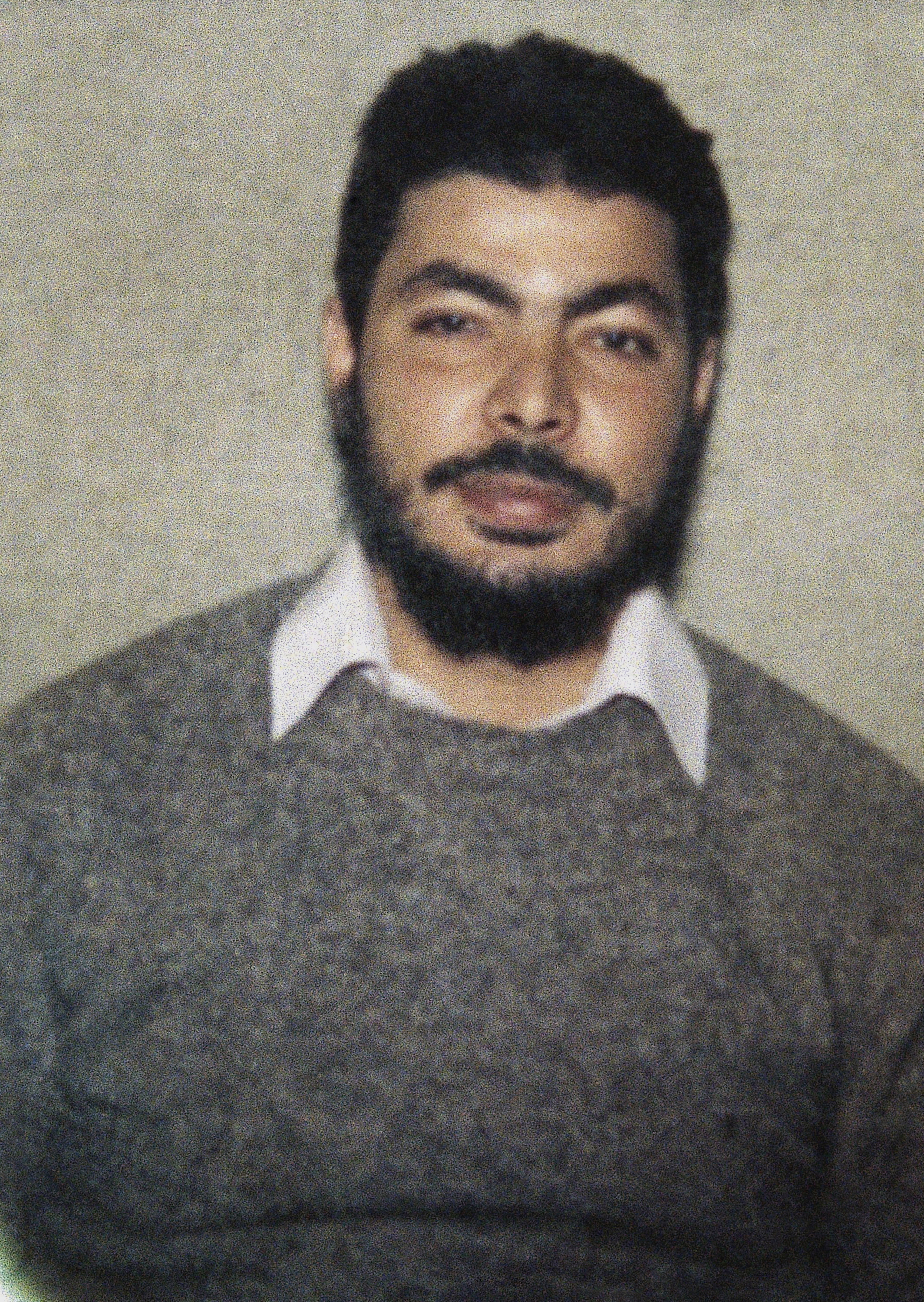 El-Sayyid A. Nosair, alleged assassin of Rabbi Meir Kahane. Nosair was charged with murder.