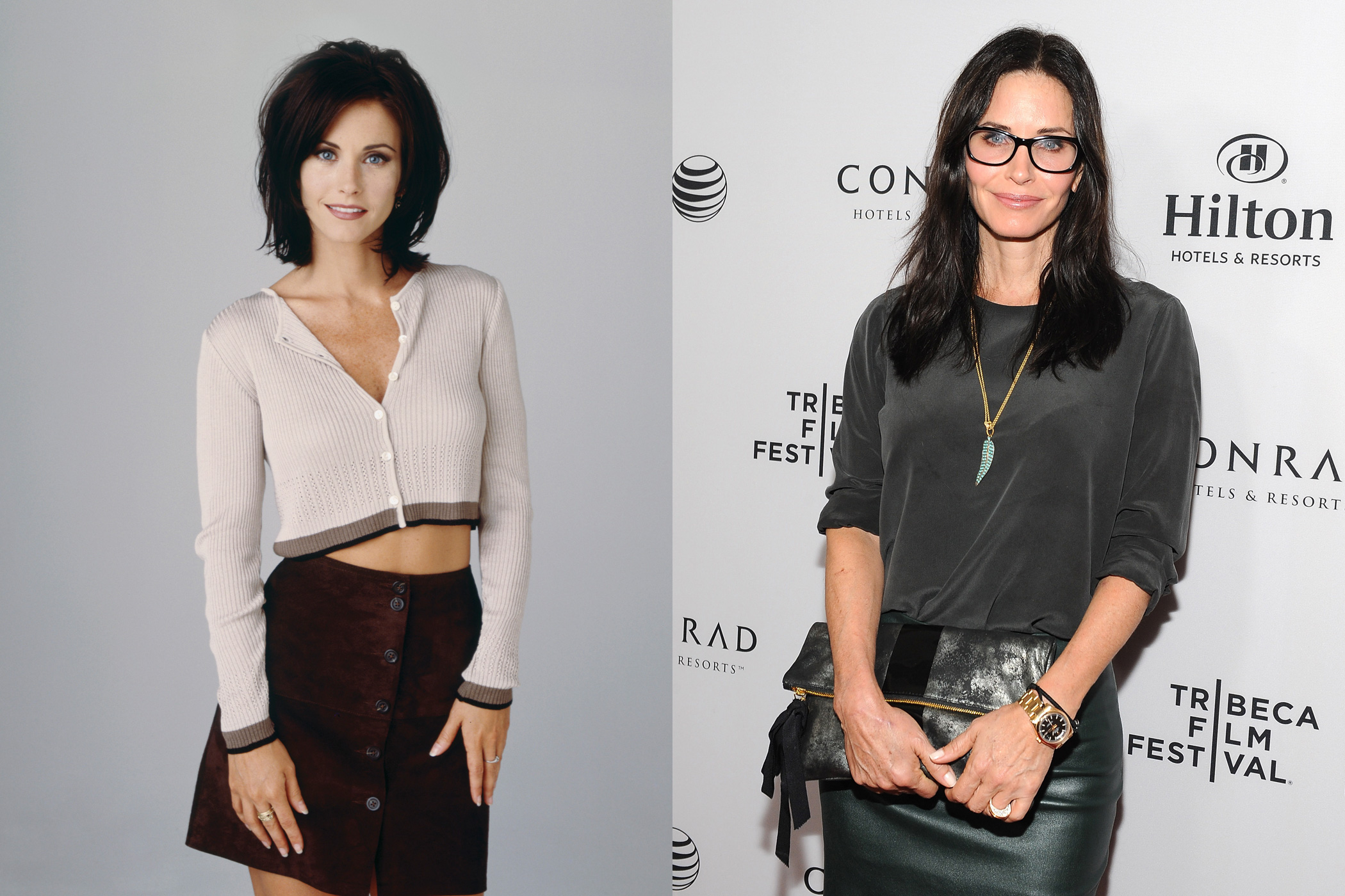 <strong>2. Courtney Cox (Monica Geller)</strong>                                   Since <i>Friends</i>, Cox made a successful return to the small screen in the ABC's (now TBS) show <i>Cougar Town</i>. She also starred in the cult favorite <i>Scream</i> series.