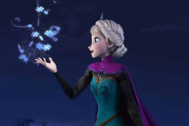 Elsa in Frozen, 2013.