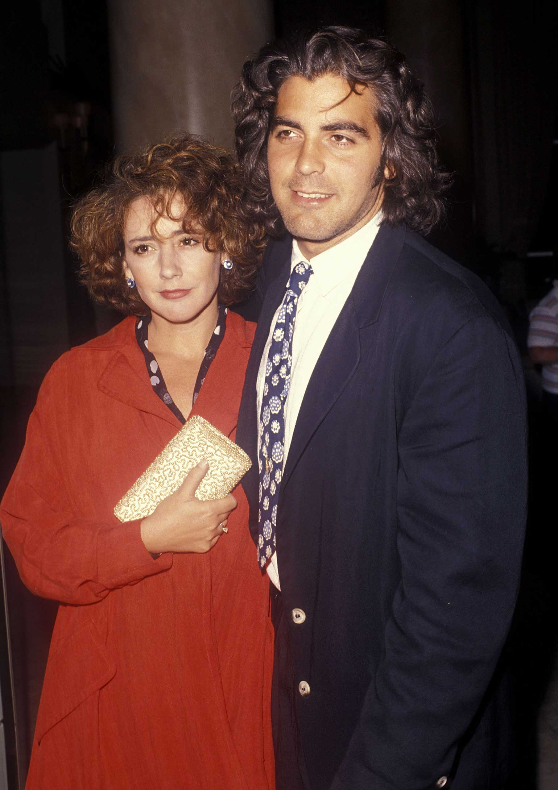 Clooney married Talia Balsam in 1989. They divorced three years later.