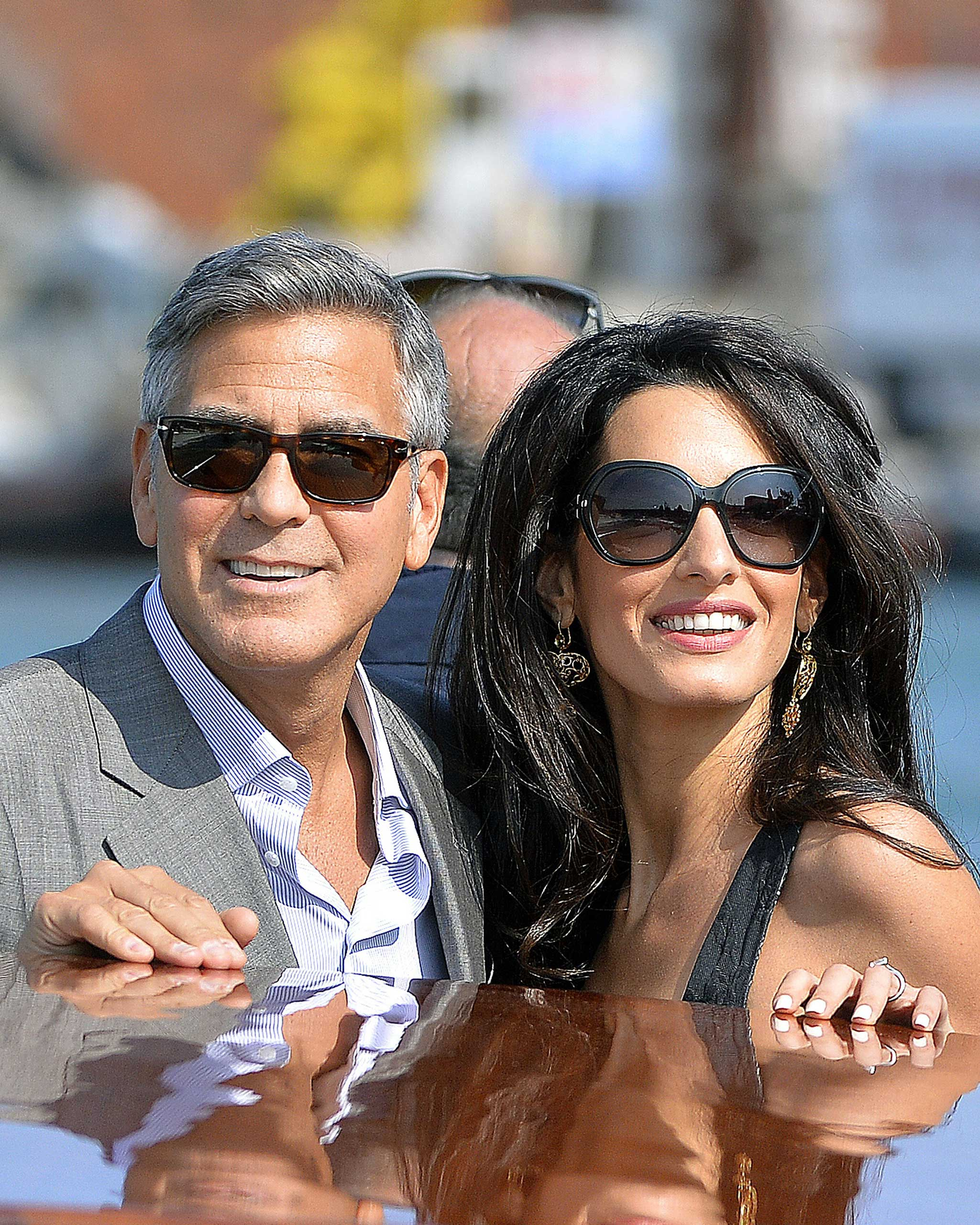 In 2014 Clooney proposed to girlfriend Amal Alamuddin, despite claims that he would never marry again.