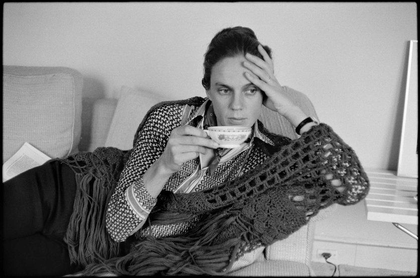 Martine Franck in 1975.
