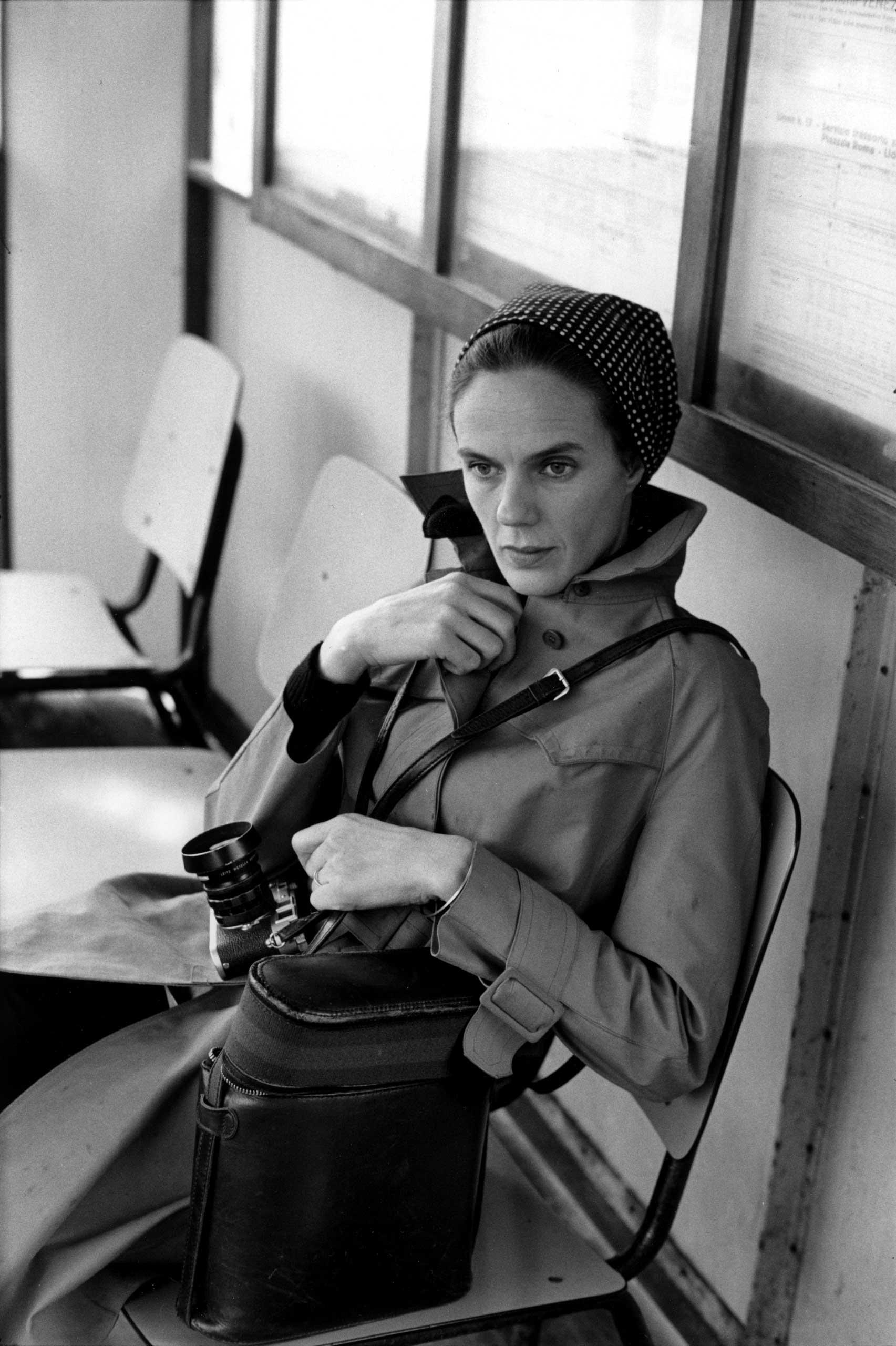 Martine Franck in Italy, 1972.