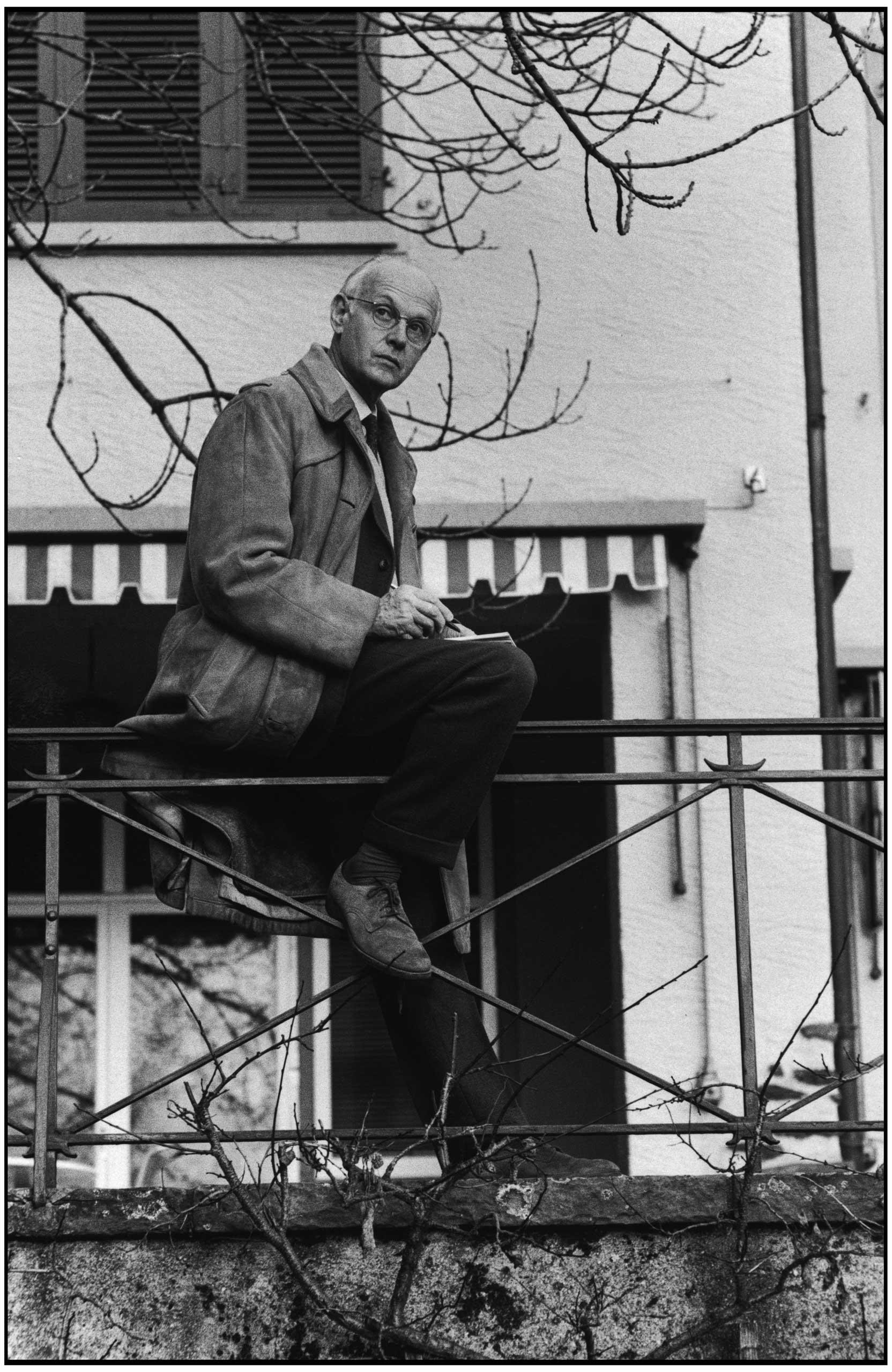 Henri Cartier-Bresson in ZŸrich, Switzerland, 1970.