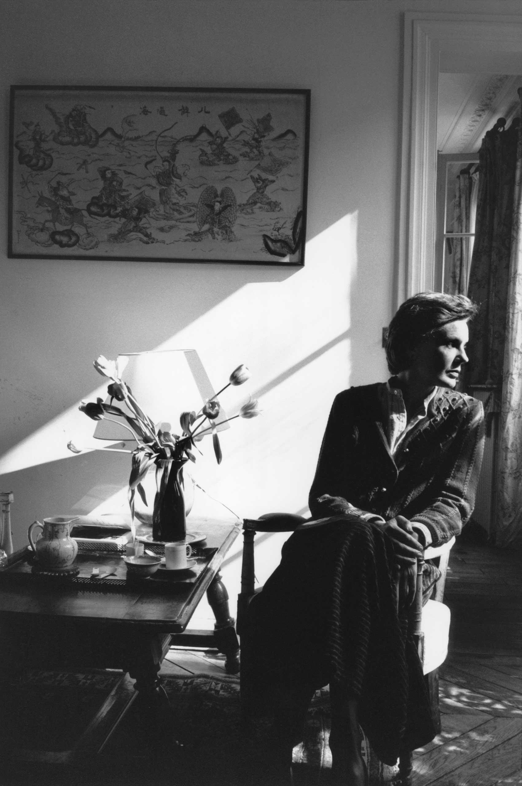Martine Franck in 1986.