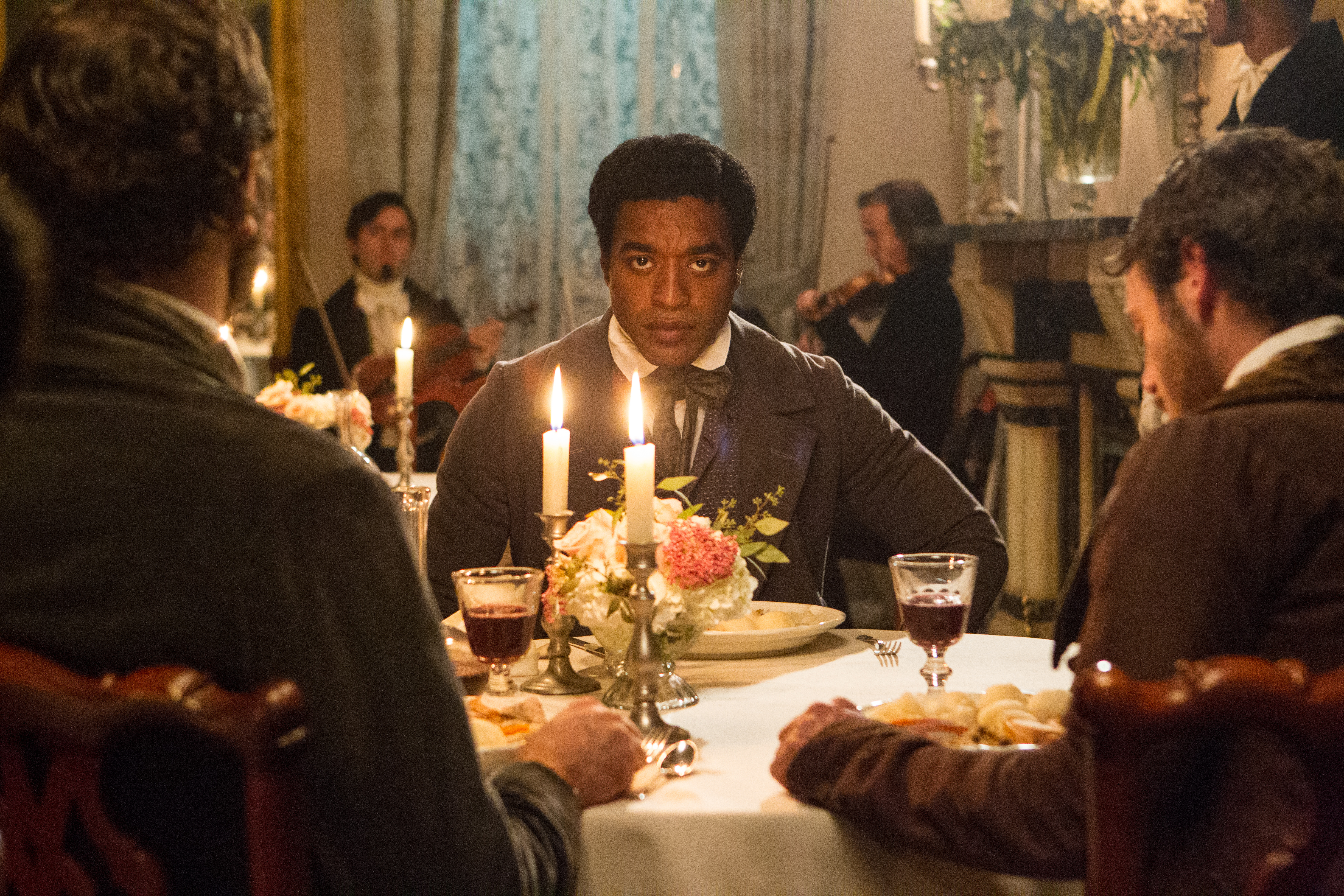 """Chiwetel Ejiofor as """"Solomon Northup"""" in 12 Years a Slave, winner of the People's Choice Award at the 2013 Toronto Film Festival"""
