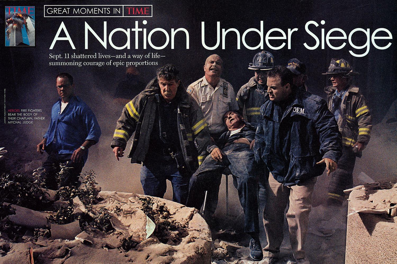 From  A Nation Under Siege.  December 15, 2003 International issue.