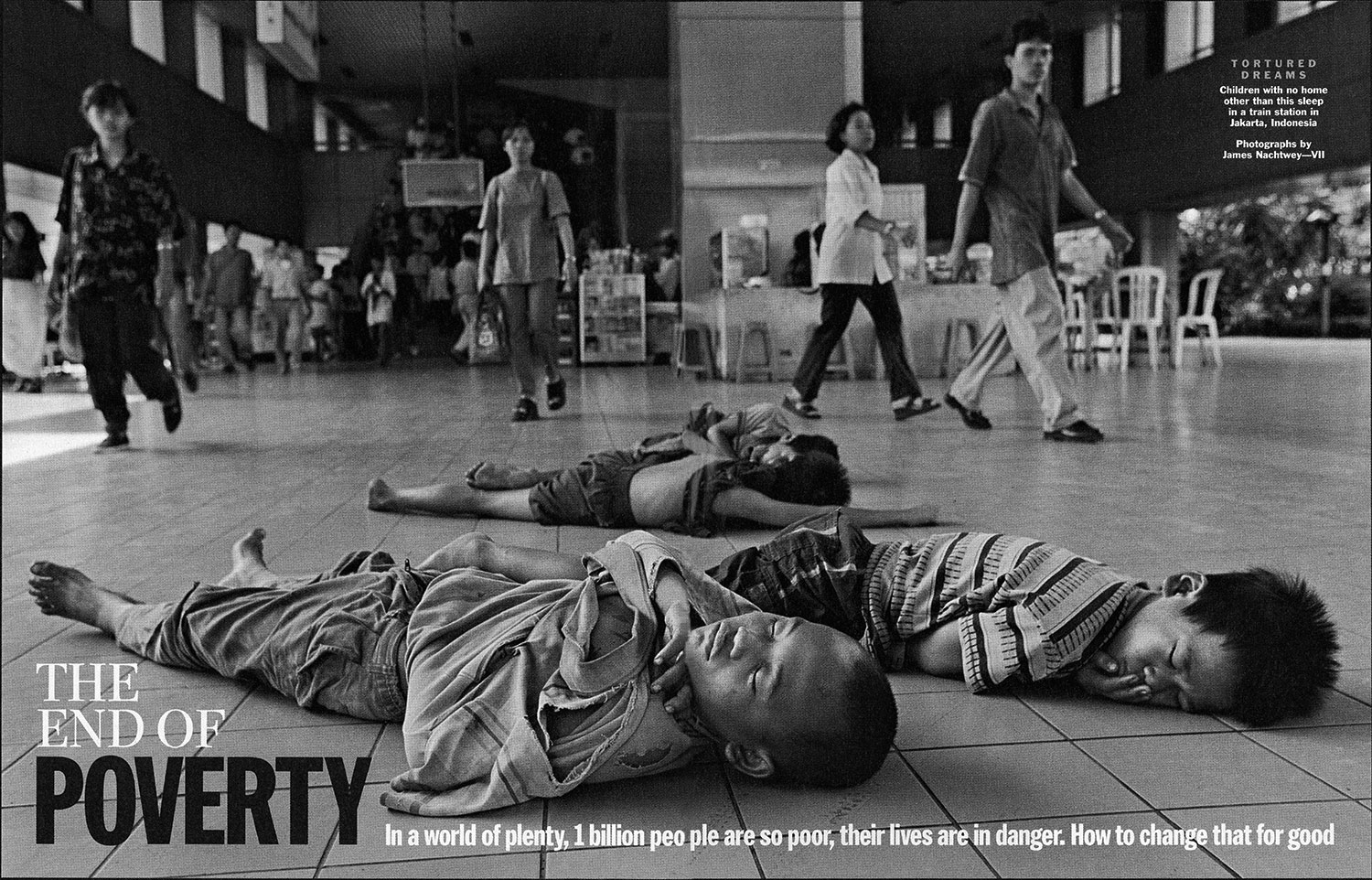 From  The End of Poverty.  March 14, 2005 International issue.