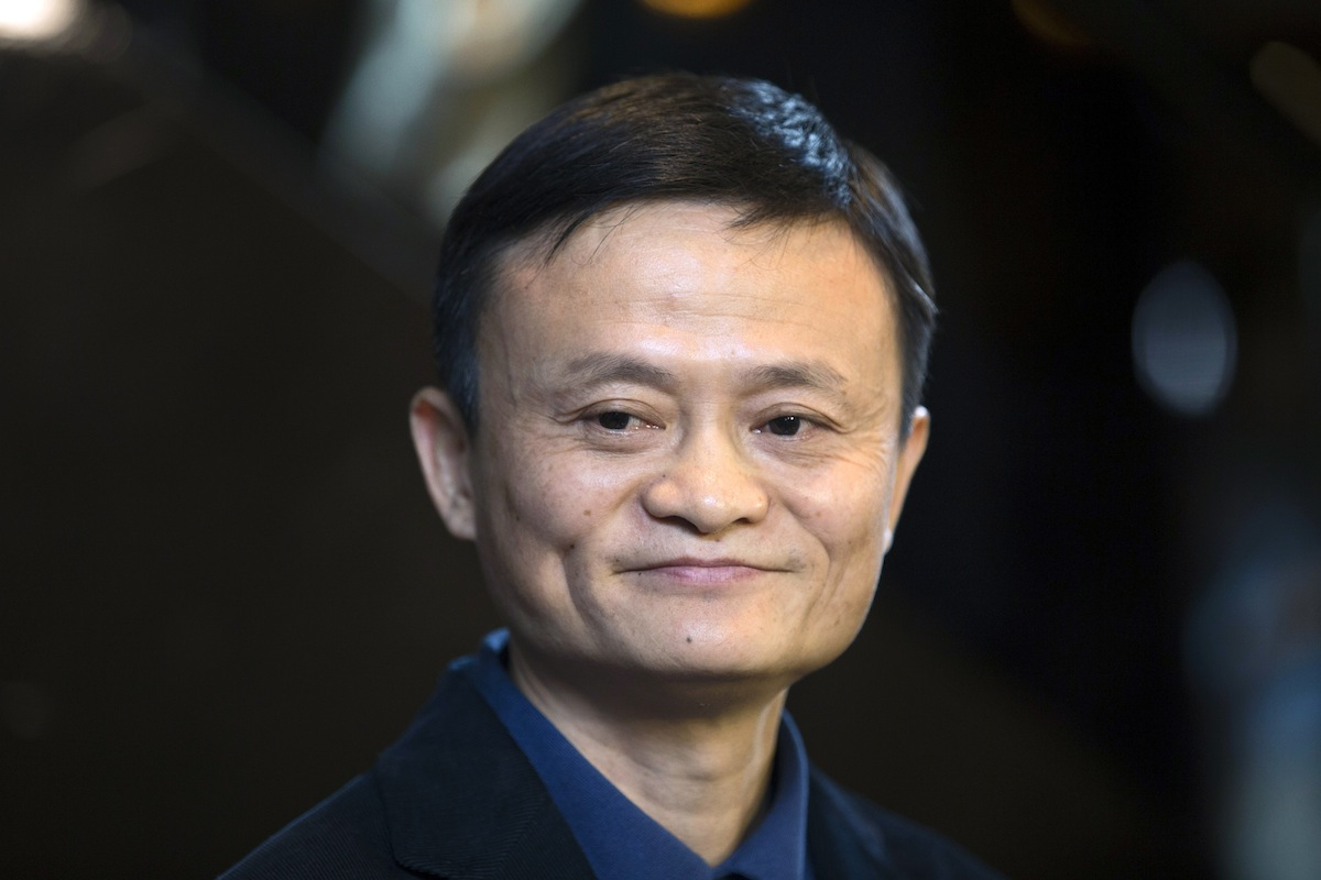 Jack Ma, chairman of Alibaba Group Holding Ltd., in Hong Kong on  Sept. 15, 2014.