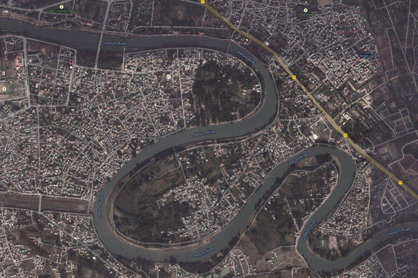 Jammu & Kashmir pre-flooding.