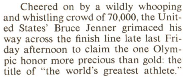 From the Aug. 9, 1976, issue of TIME