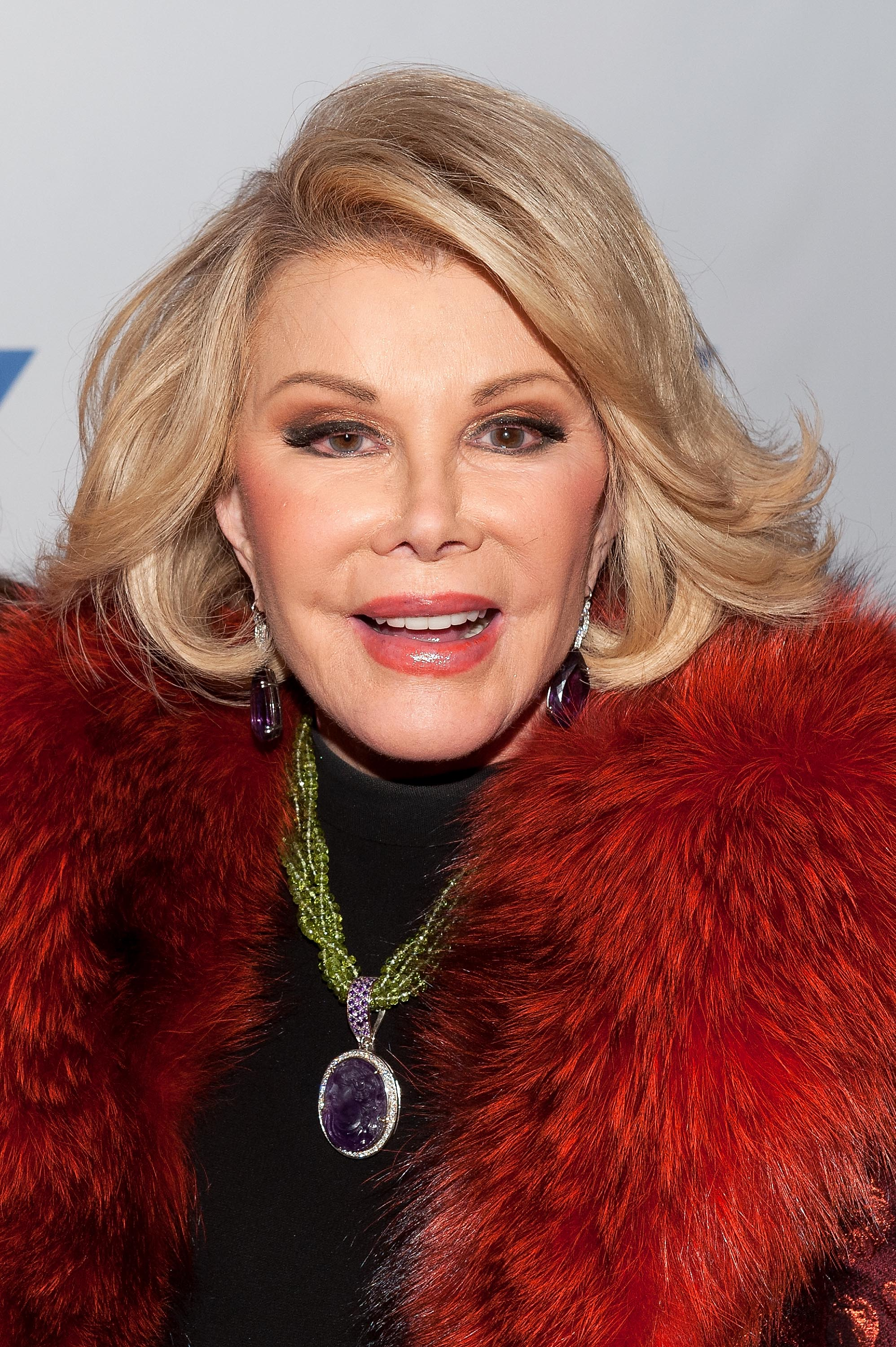 Joan Rivers attends An Evening With Joan And Melissa Rivers at the 92nd Street Y on Jan. 22, 2014 in New York City.