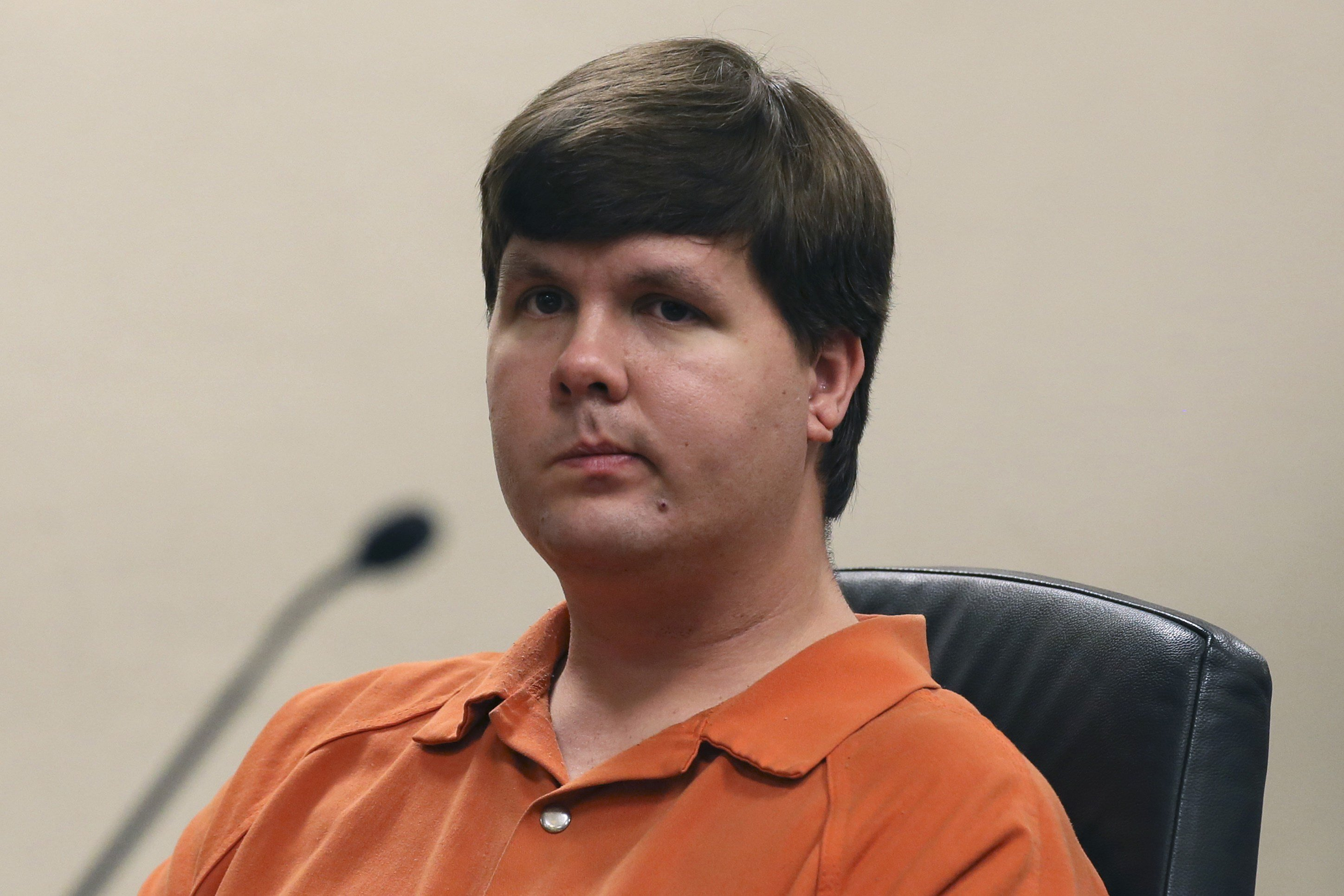 Justin Ross Harris sits in Cobb County Magistrate Court in Marietta, Ga., on July 3, 2014