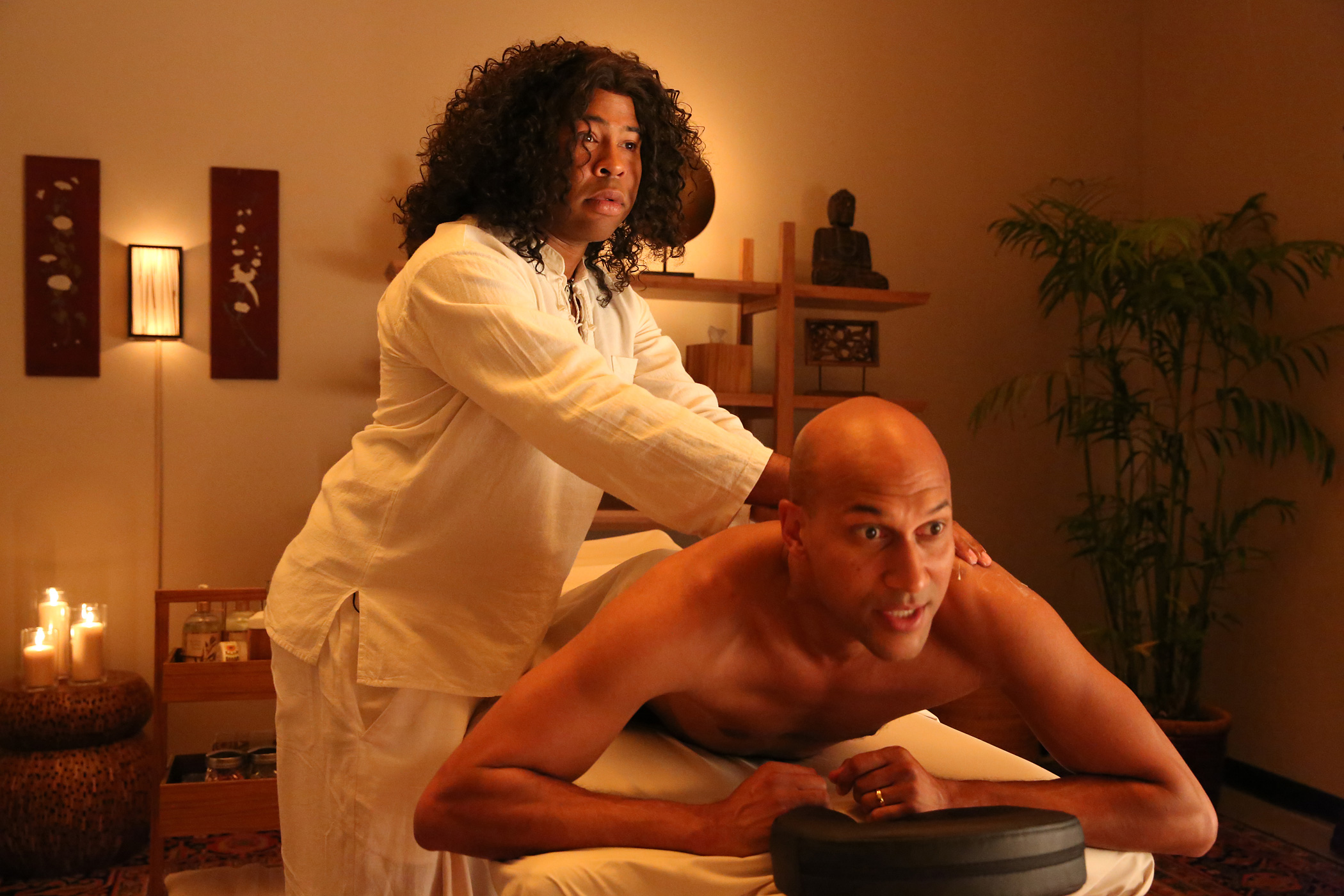 Jordan Peele, Keegan-Michael Key in Season 4 of Key & Peele