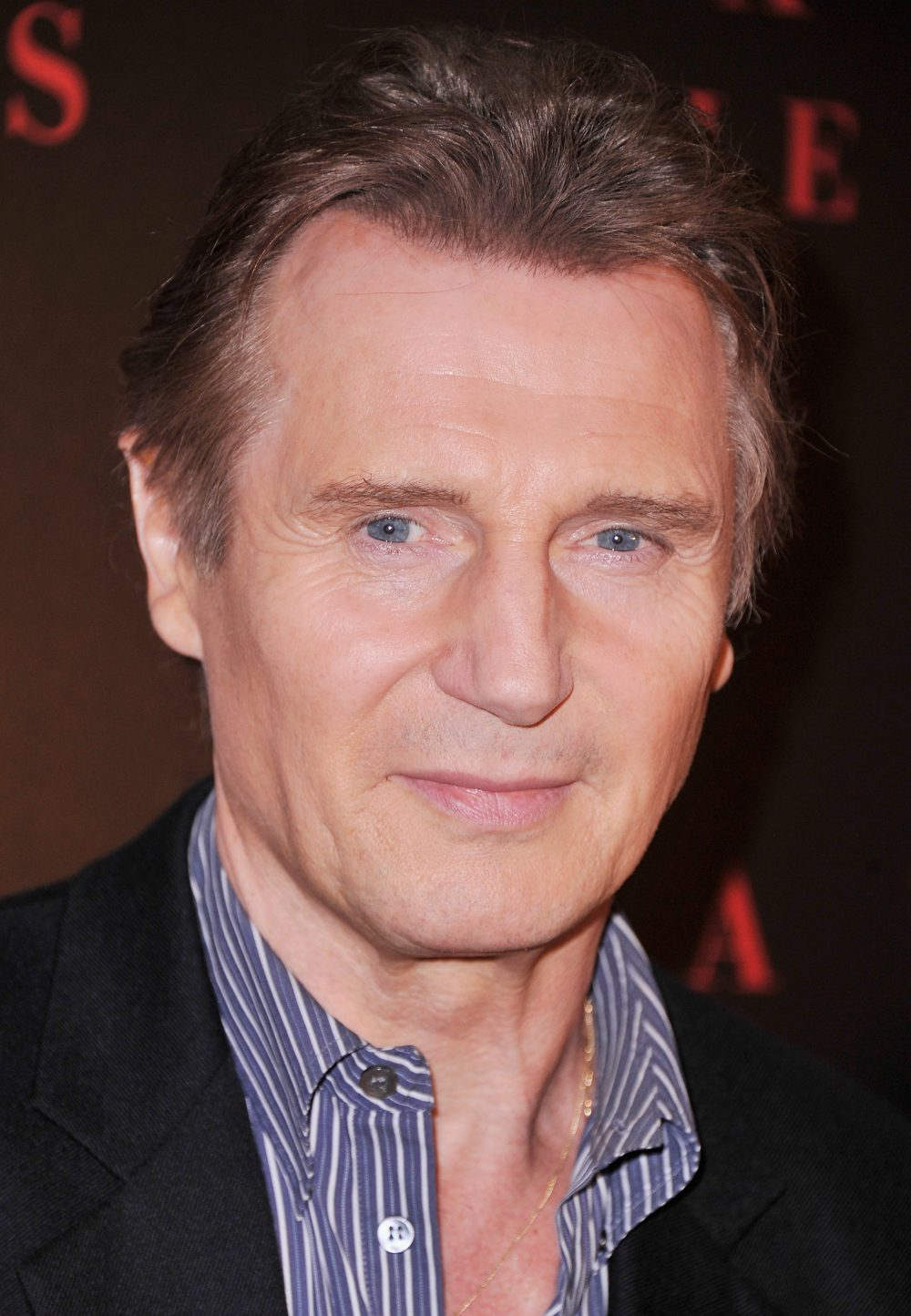 Actor Liam Neeson attends the Universal Pictures and Cross Creek Pictures with The Cinema Society screening of  A Walk Among the Tombstones  at Chelsea Bow Tie Cinemas on Sept. 17, 2014 in New York City.