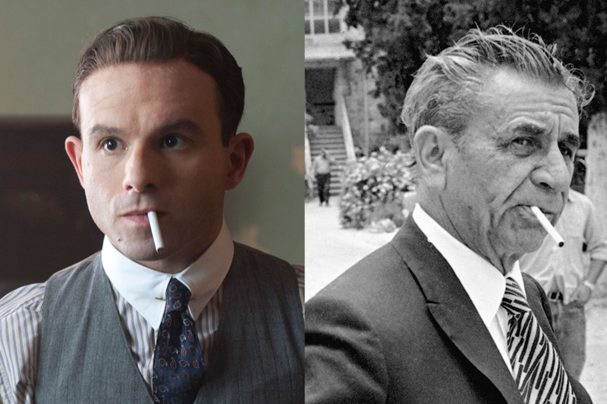 Meyer Lansky:                               The brains behind the infamous National Crime Syndicate, real life Meyer Lansky was born in modern day Belarus (then part of the Russian Empire) and was involved with both the Jewish and Italian mafias. Anatol Yusef's on-screen version hails from Poland, but other than that is very similar.