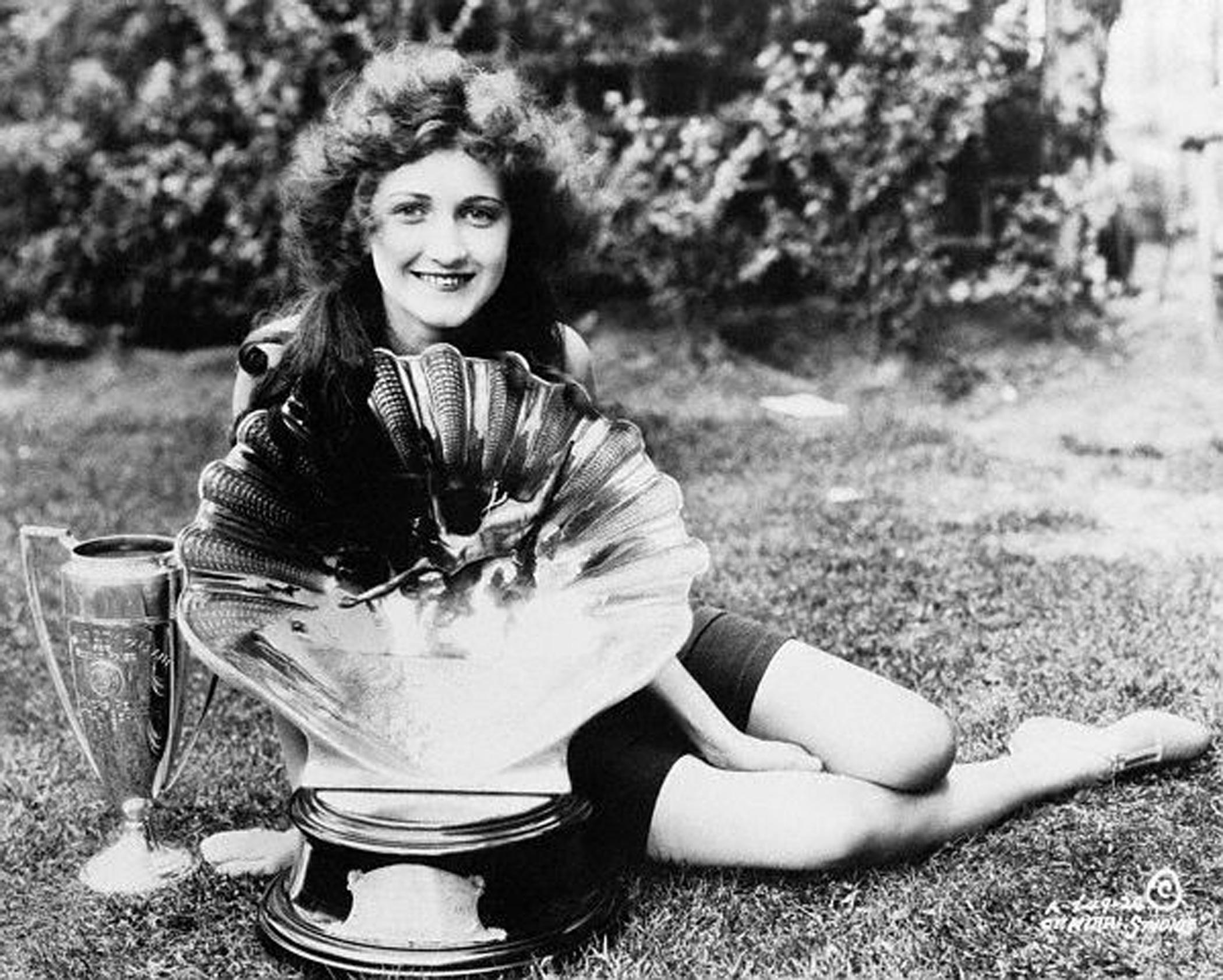 1924:  Ruth Malcomson from Philadelphia