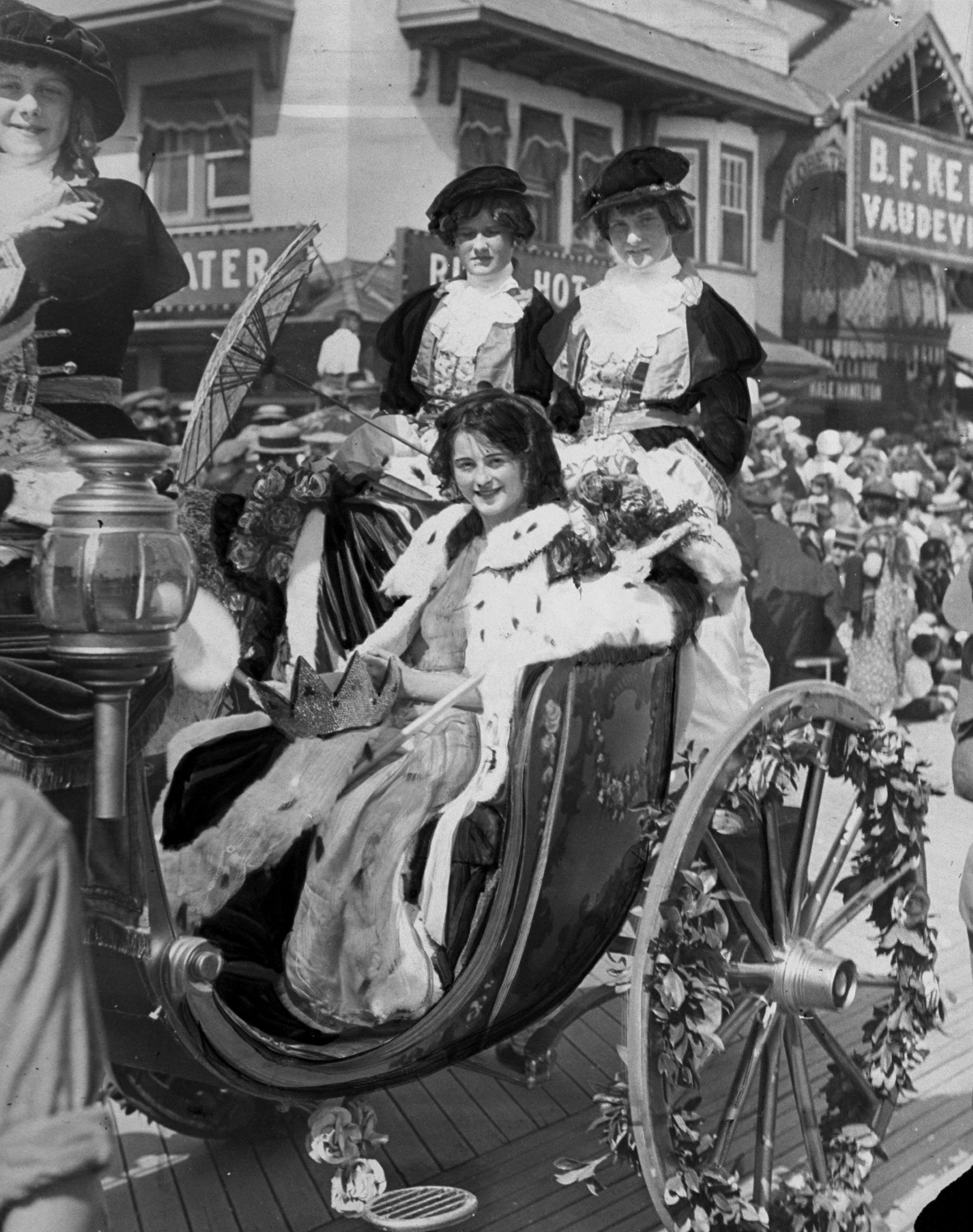 1923: Mary Katherine Campbell from  Columbus, Ohio