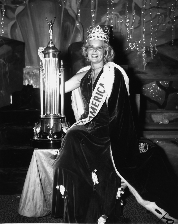 1937: Bette Cooper from Bertrand Island, N.J.