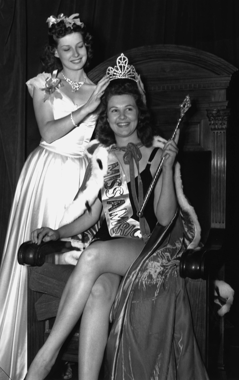 1940: Frances Burke from Philadelphia