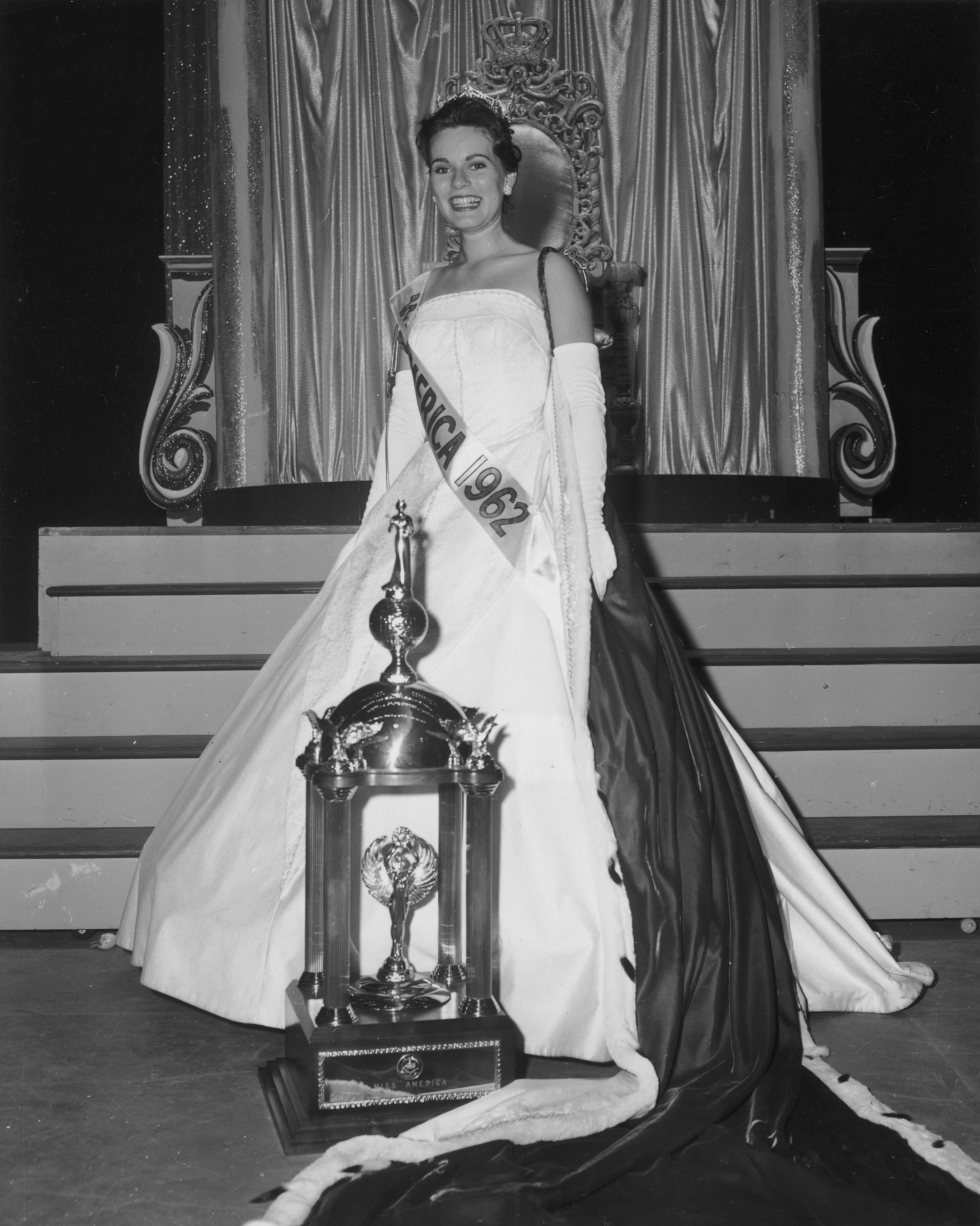 1962: Maria Fletcher from Asheville, N.C.