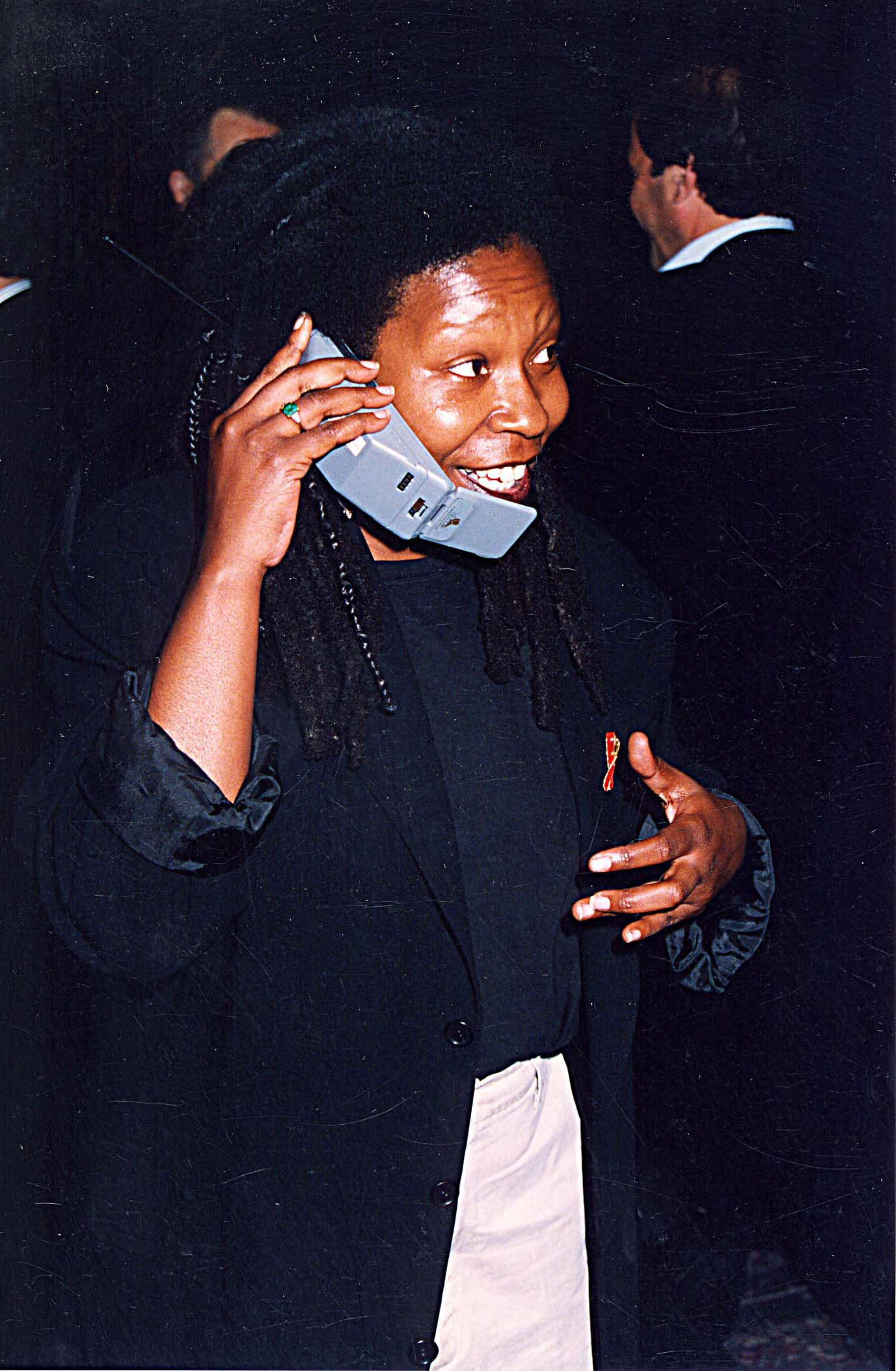 <strong>1993</strong>                                   Whoopi Goldberg during  ShoWest in Las Vegas.
