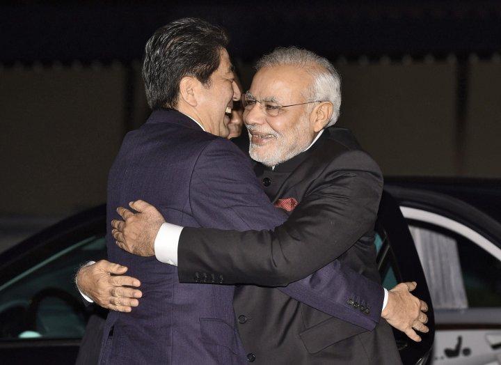 JAPAN-INDIA-DIPLOMACY-POLITICS