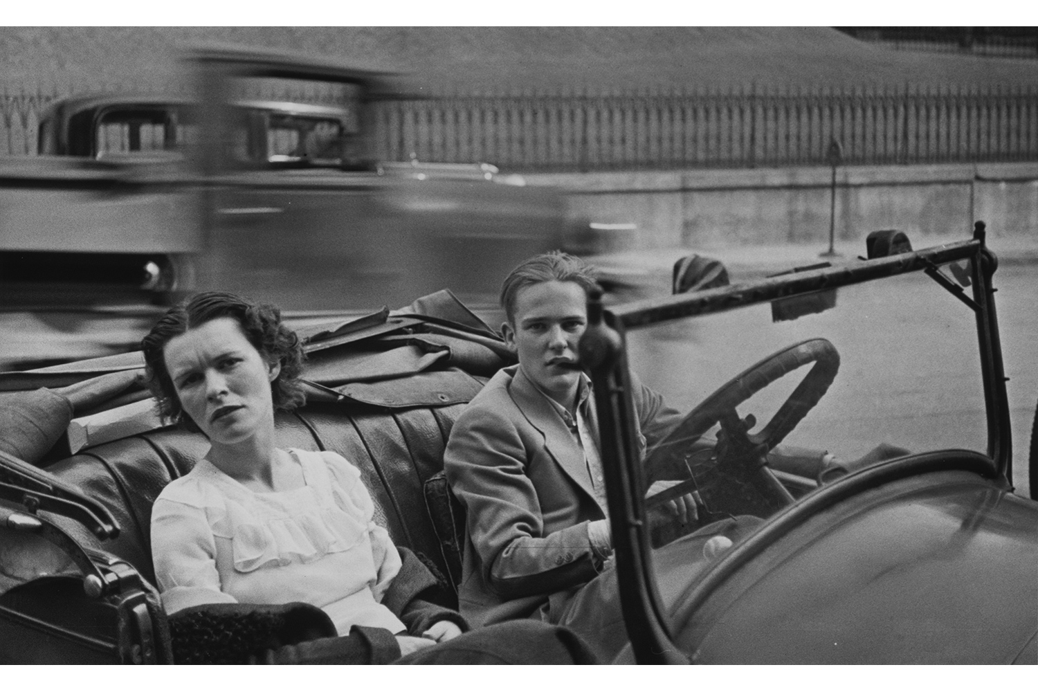 [Young Couple in Parked Open-Air Car, Ossining, New York], 1932–34                                                                                             © Walker Evans Archive, The Metropolitan Museum of Art