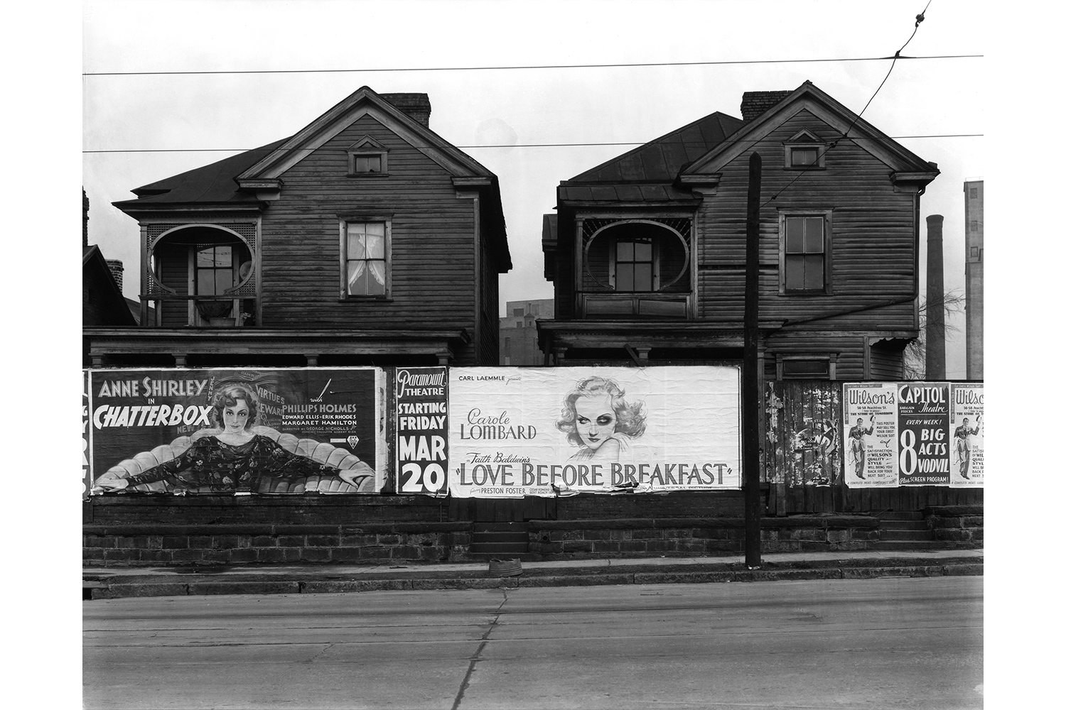 House and Billboards, Atlanta, 1936                                                                                             Courtesy Library of Congress Prints and Photographs Division