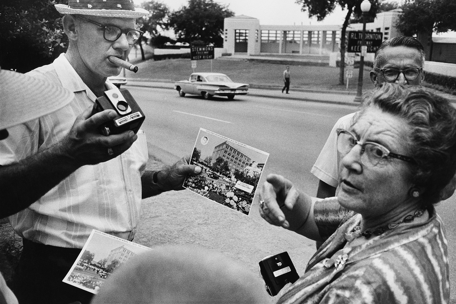 Dealey Plaza, Dallas, 1964                                                                                             © The Estate of Garry Winogrand, courtesy Fraenkel Gallery, San Francisco and Collection Center for Creative Photography, The University of Arizona