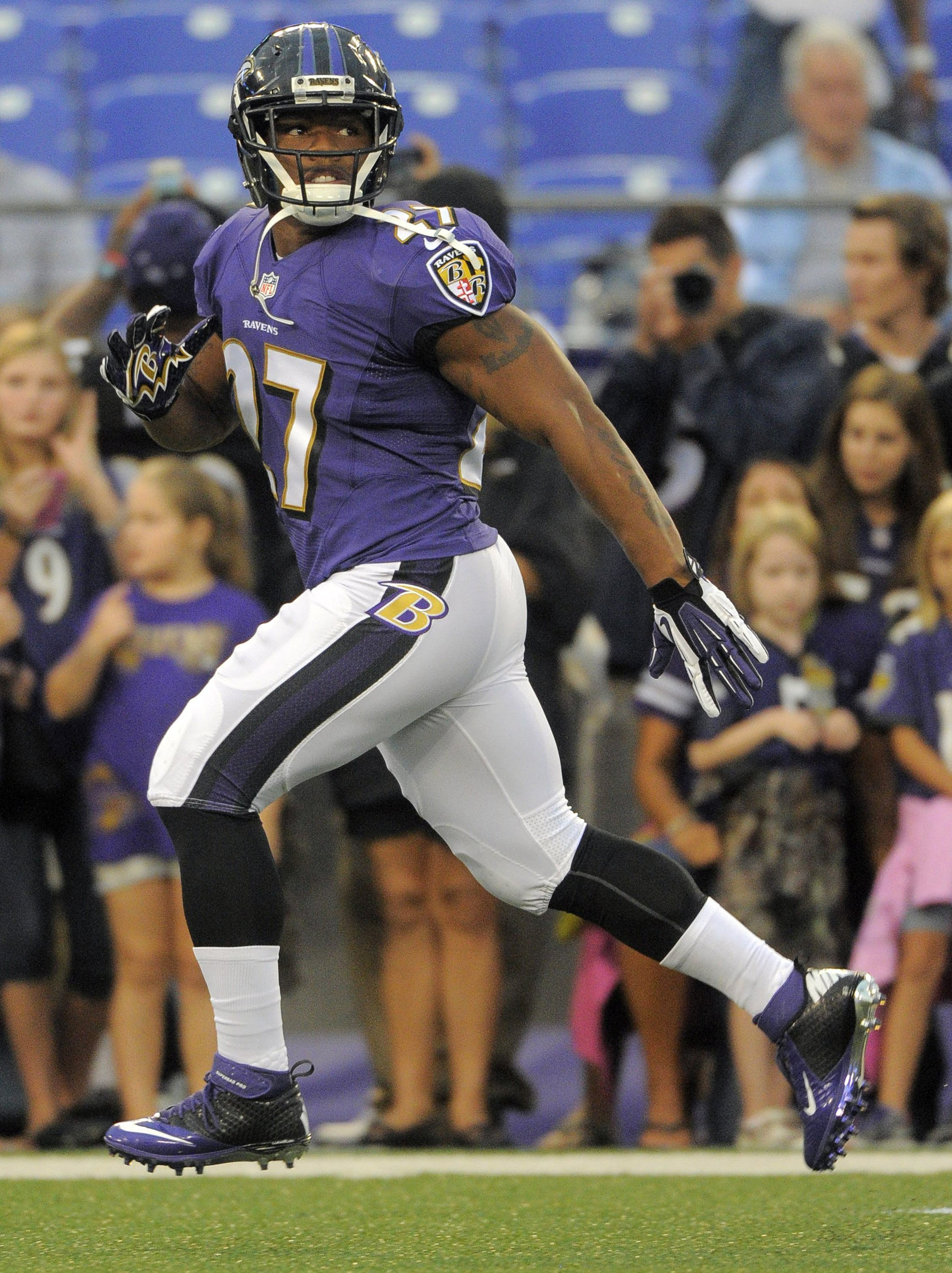 Run away now, Ray: The former Raven is paying a price for his self-regard