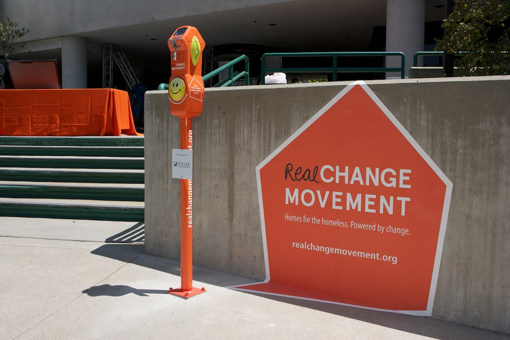 An example of one of the Real Change Movement's meters