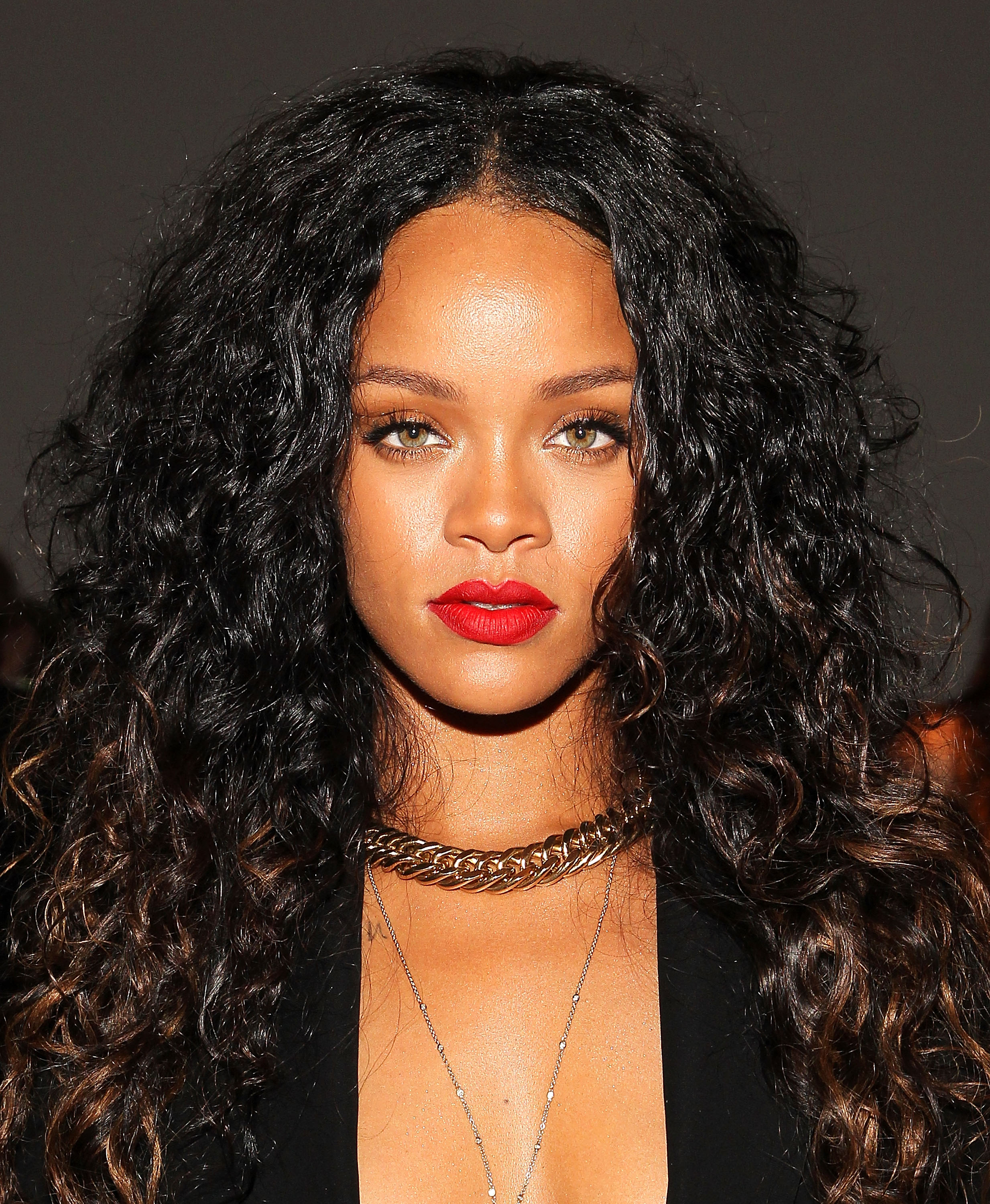 Rihanna attends the Altuzarra show during Mercedes-Benz Fashion Week Spring 2015 at Spring Studios on September 6, 2014 in New York City.