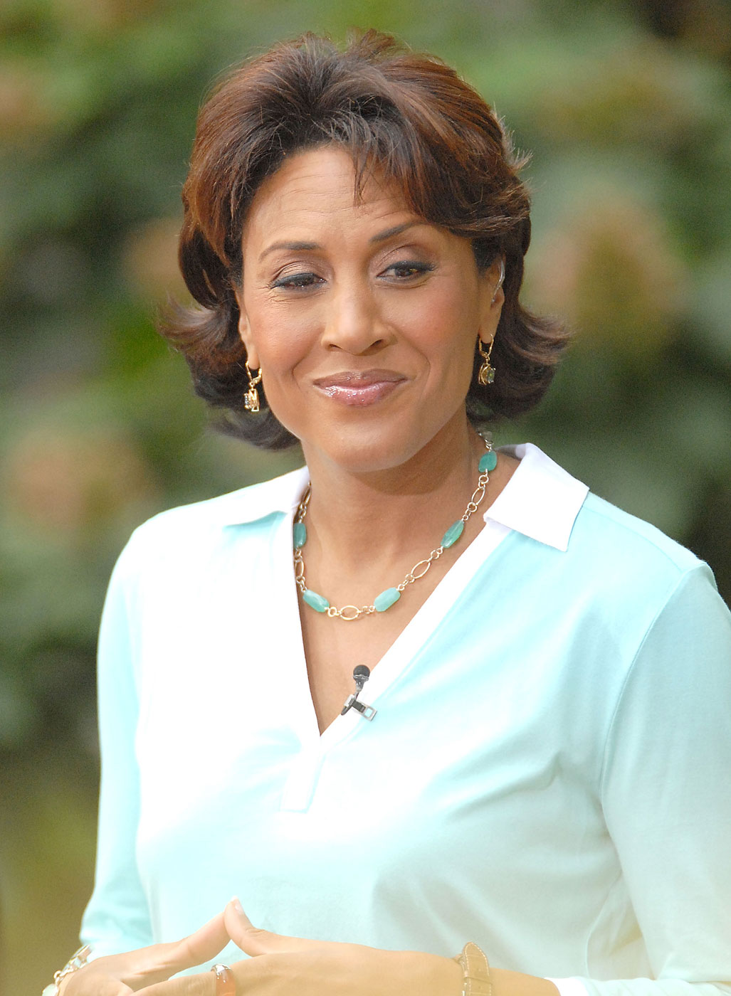 Robin Roberts                               News personality and author                               Diagnosed with breast cancer in 2007 and with treatment-related myeldysplastic syndrome in 2011