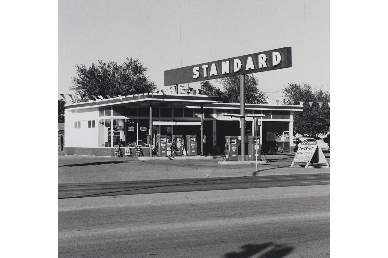 Standard Station, Amarillo, Texas, 1962