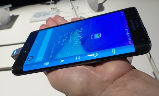 The Samsung Galaxy Note Edge