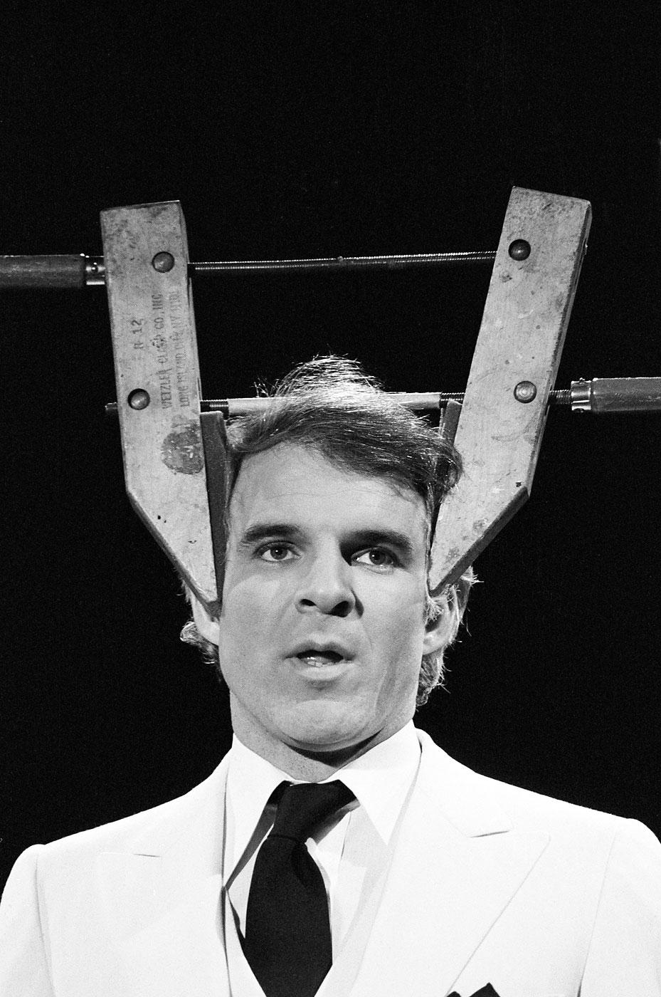 Steve Martin during the monologue on November 4, 1978.