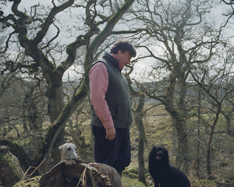 Julian, a farmer, businessman, landowner and conservationist Northumberland, England.