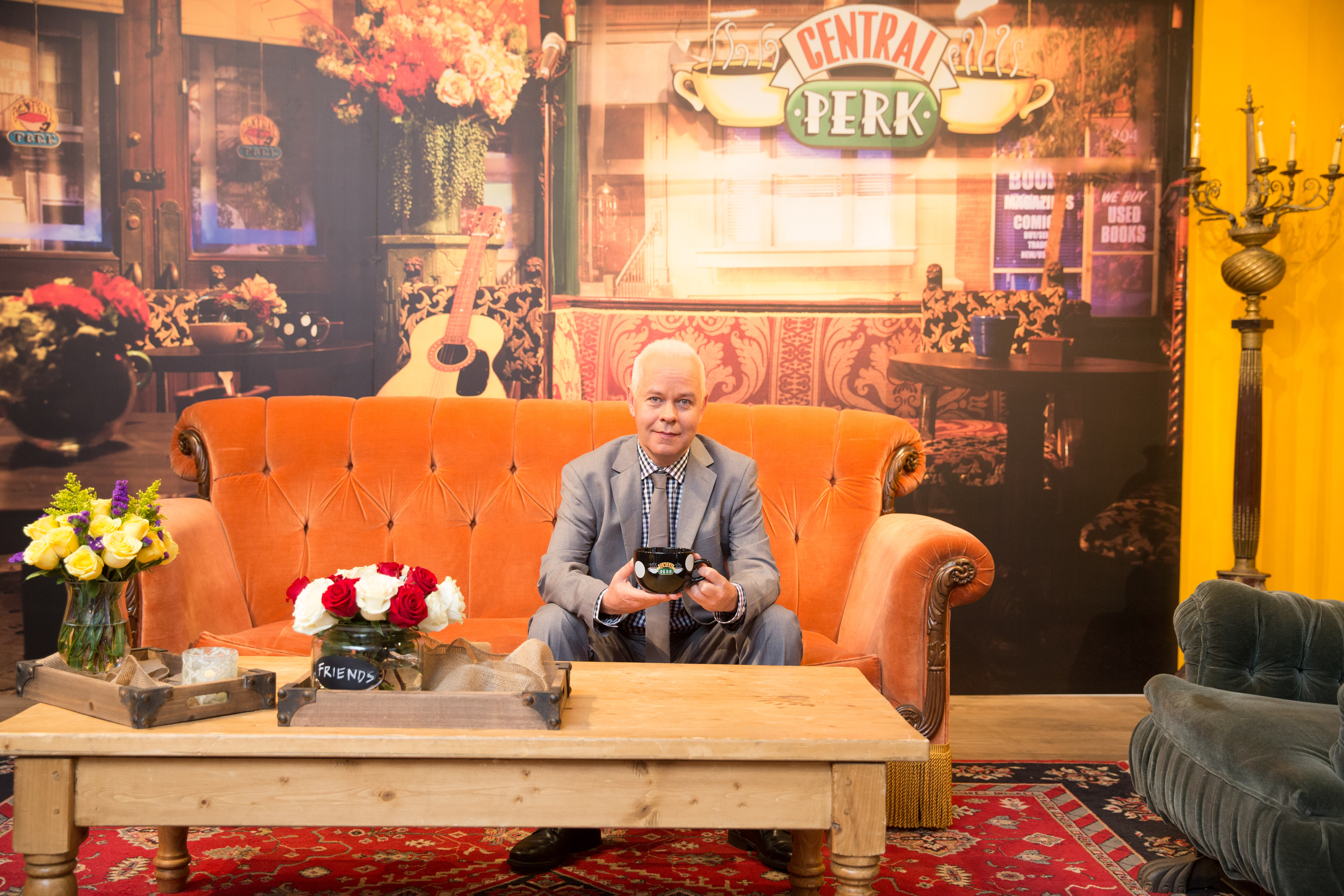 Central Perk Coffee Shop Friends Pop Up In Soho For 20th Anniversary Time